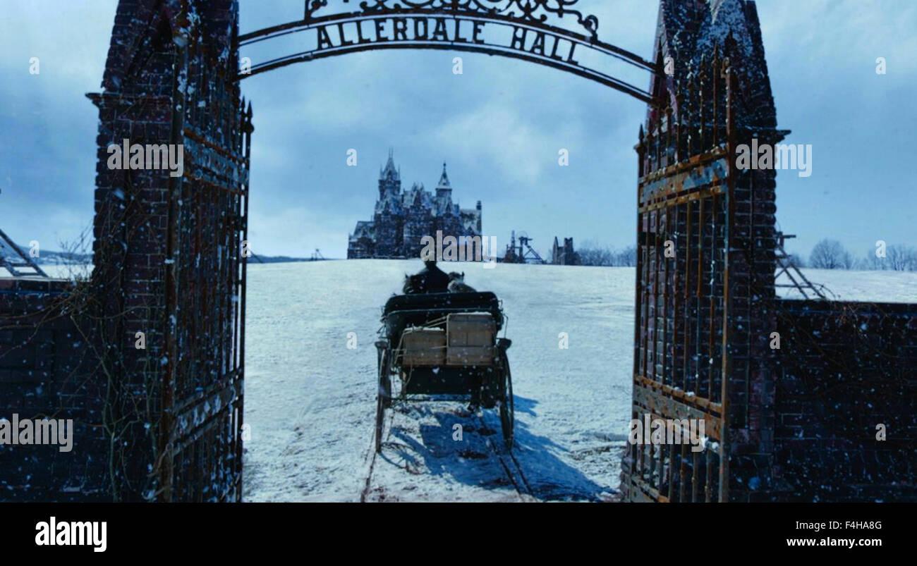 CRIMSON PEAK 2015 Universal Pictures film - Stock Image