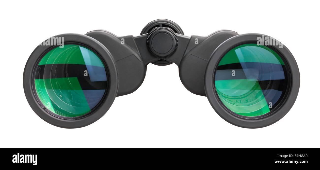 binoculars isolated - Stock Image