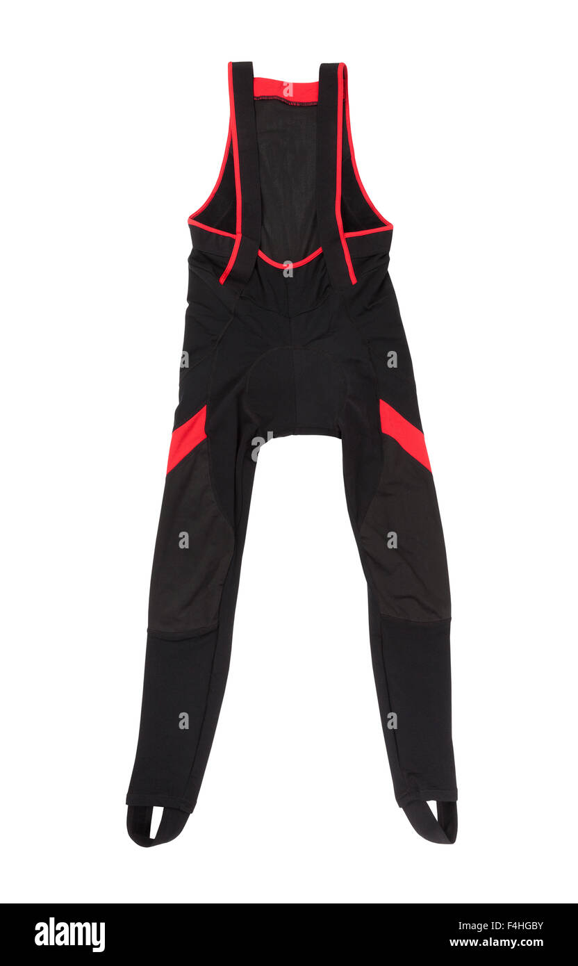 cycling pants isolated - Stock Image