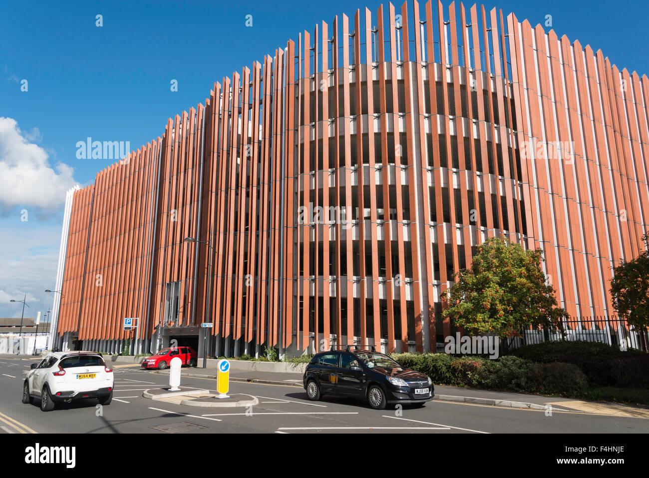 Whalebridge Car Parking building, Islington Street, Swindon, Wiltshire, England, United Kingdom - Stock Image