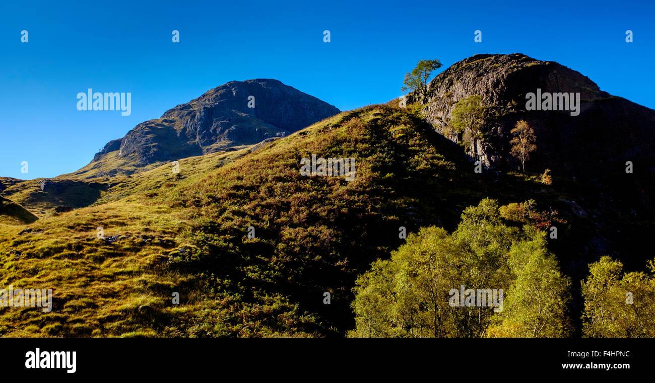 Bidean nam Bian in Glencoe, Highlands of Scotland in autumn Stock Photo