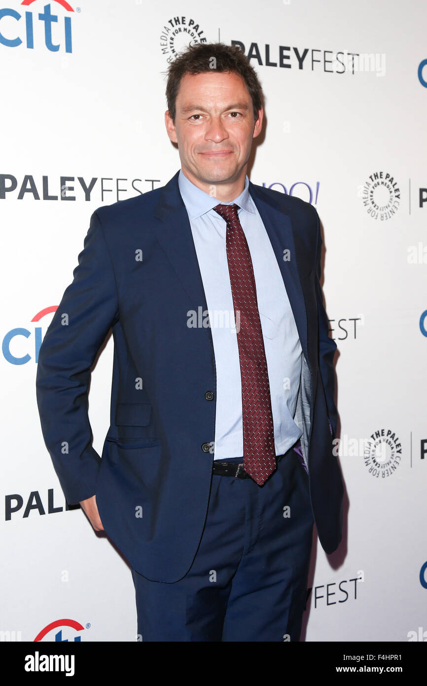Dominic West attends 'The Affair' screening at PaleyFest New York 2015 at The Paley Center for Media on - Stock Image
