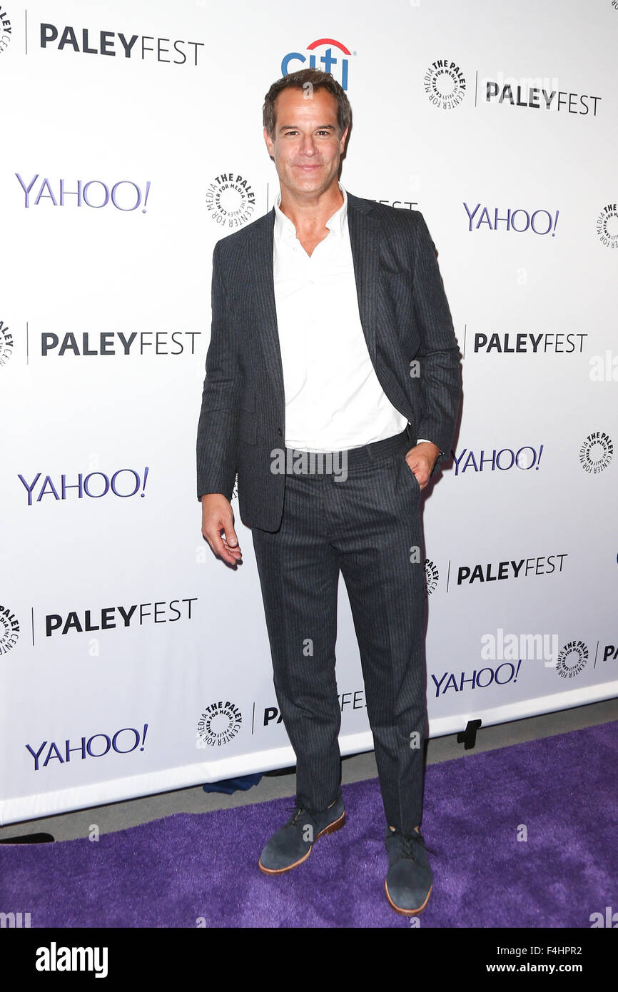 Josh Stamberg attends 'The Affair' screening at PaleyFest New York 2015 at The Paley Center for Media on - Stock Image