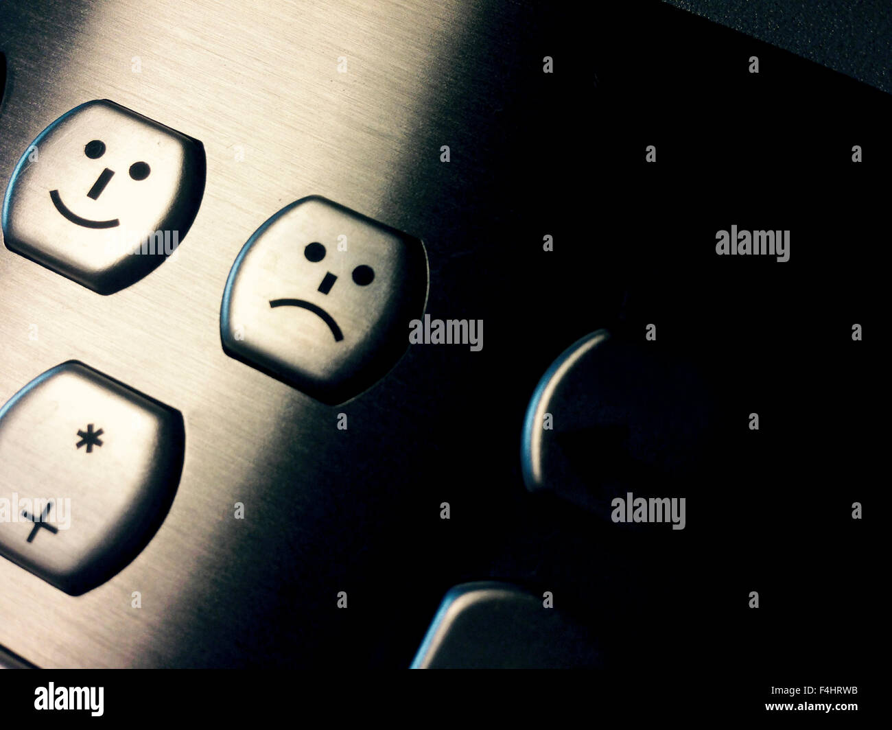 Sad Face Emoticon Type Stock Photos Sad Face Emoticon Type Stock