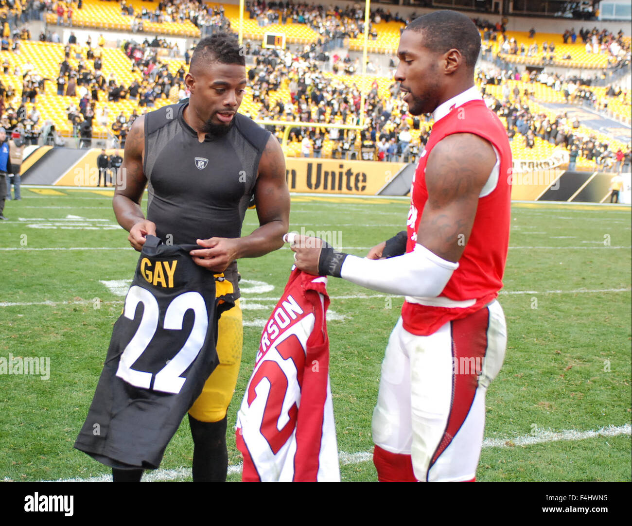 wholesale dealer f913e 56134 October 18th, 2015: William Gay #22, and Patrick Peterson ...