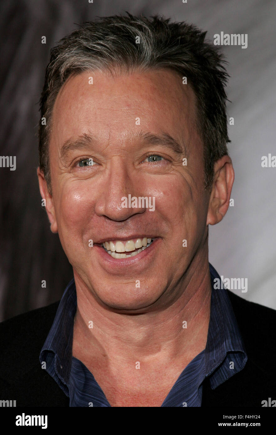 HOLLYWOOD, CALIFORNIA. March 7, 2006. Tim Allen attends the Walt Disney's World Premiere of 'The Shaggy - Stock Image