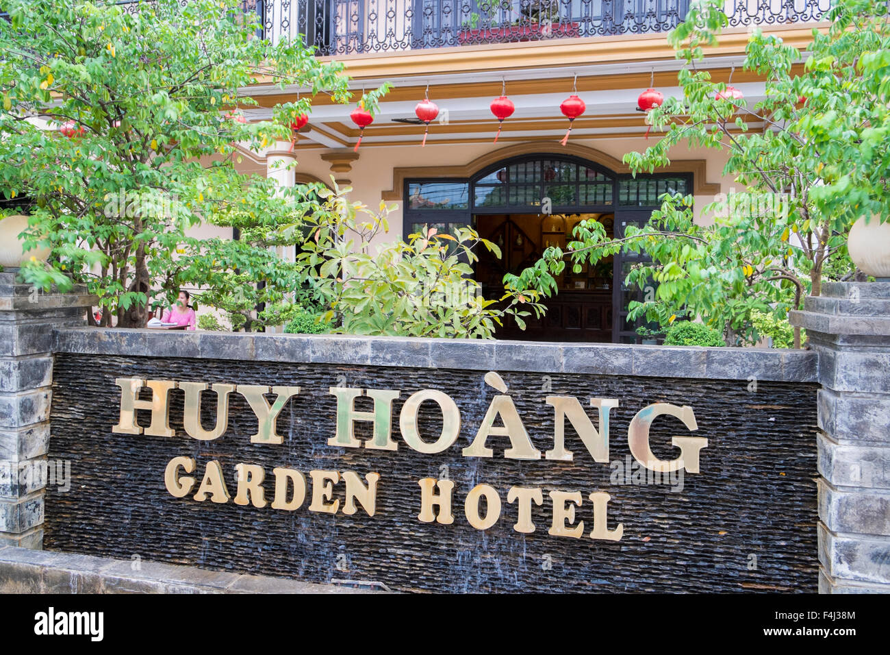 huy hoang vietnamese garden hotel in the ancient city of hoi an on the central coast of vietnam - Vietnamese Garden
