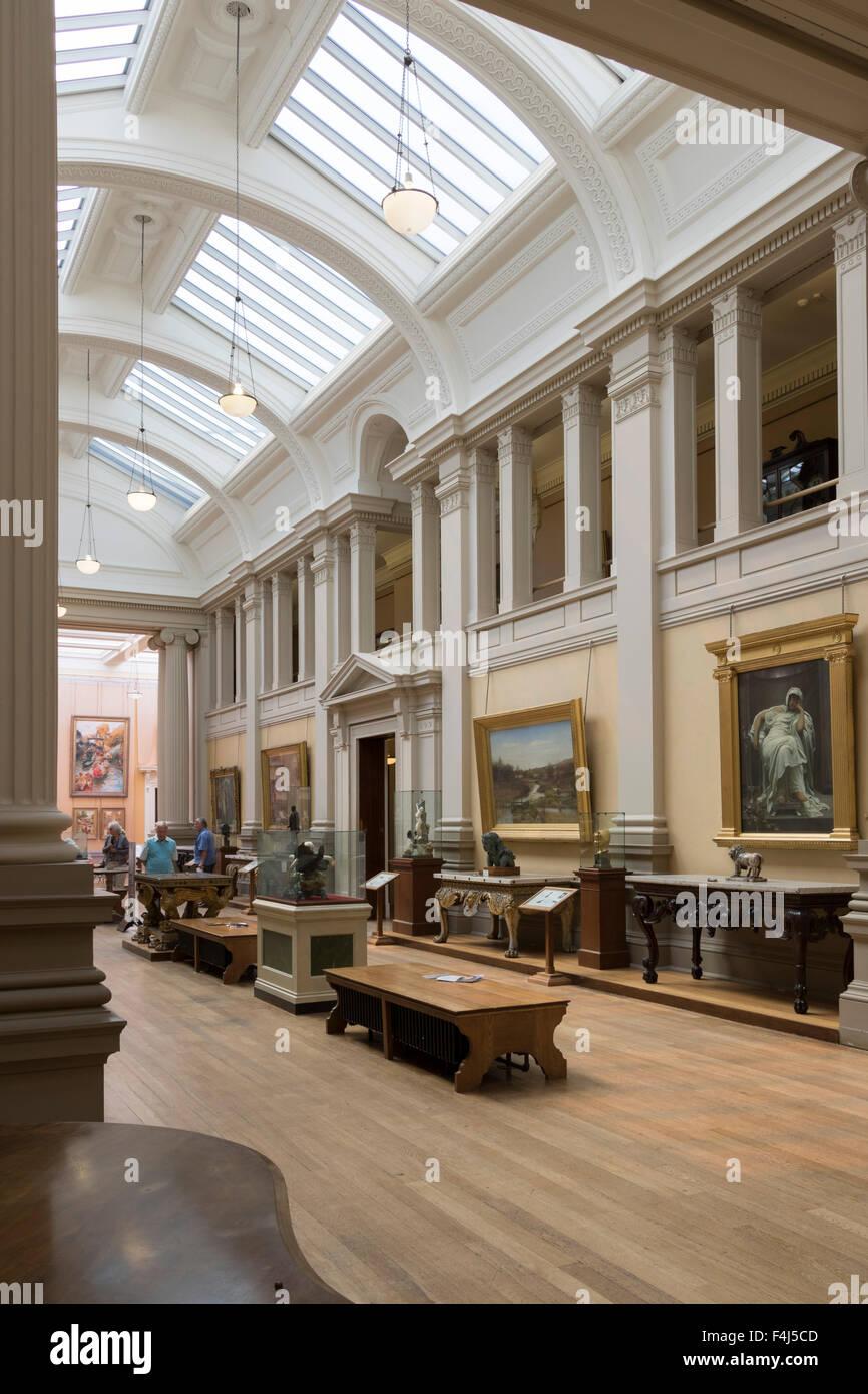 Lady Lever Art Gallery, Port Sunlight, Cheshire, England, United Kingdom, Europe - Stock Image