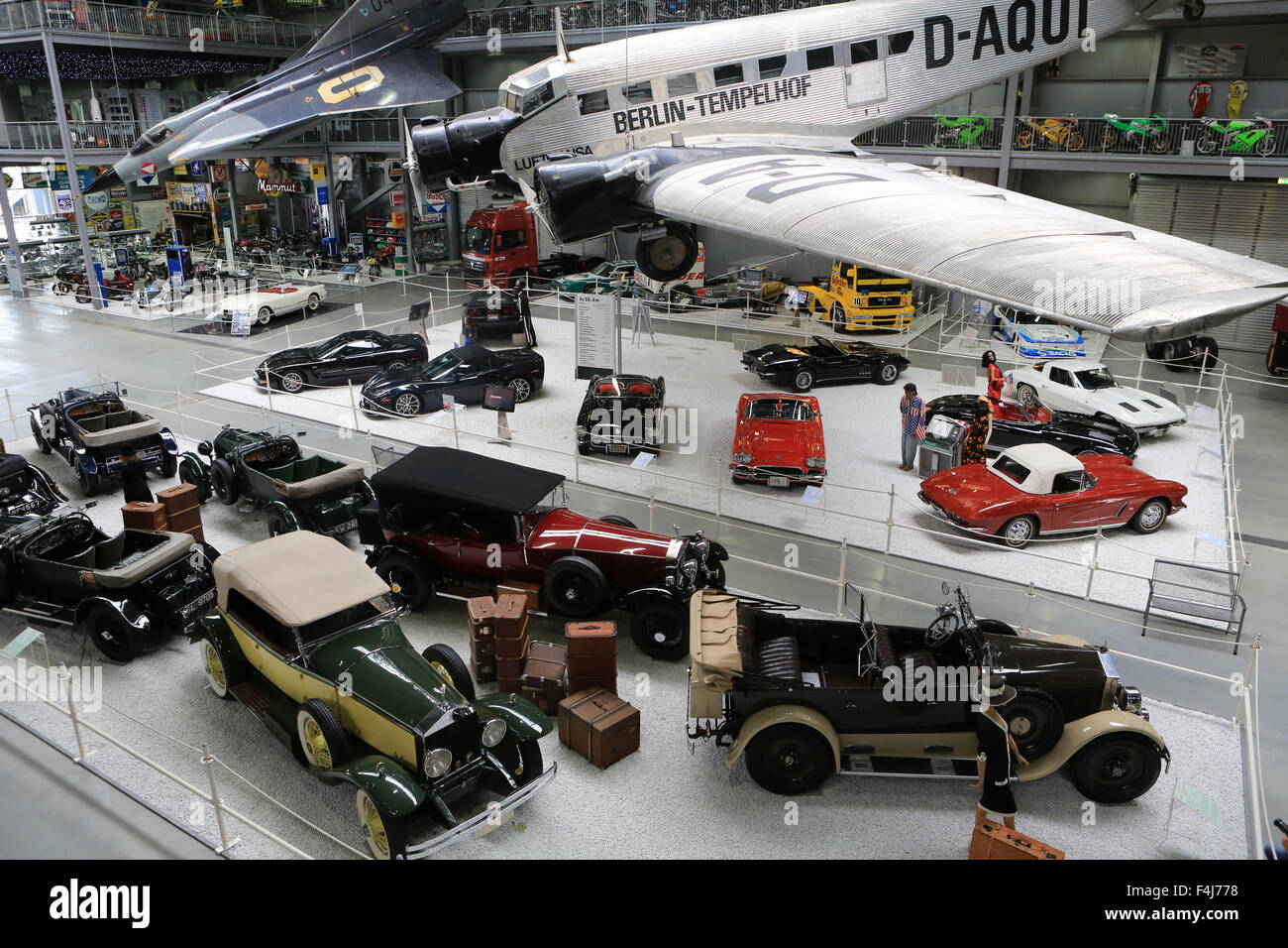 Berlin-Tempelhof, Exhibition Apollo and Beyond, The Technik Museum Speyer, Rhineland-Palatinate, Germany, Europe - Stock Image