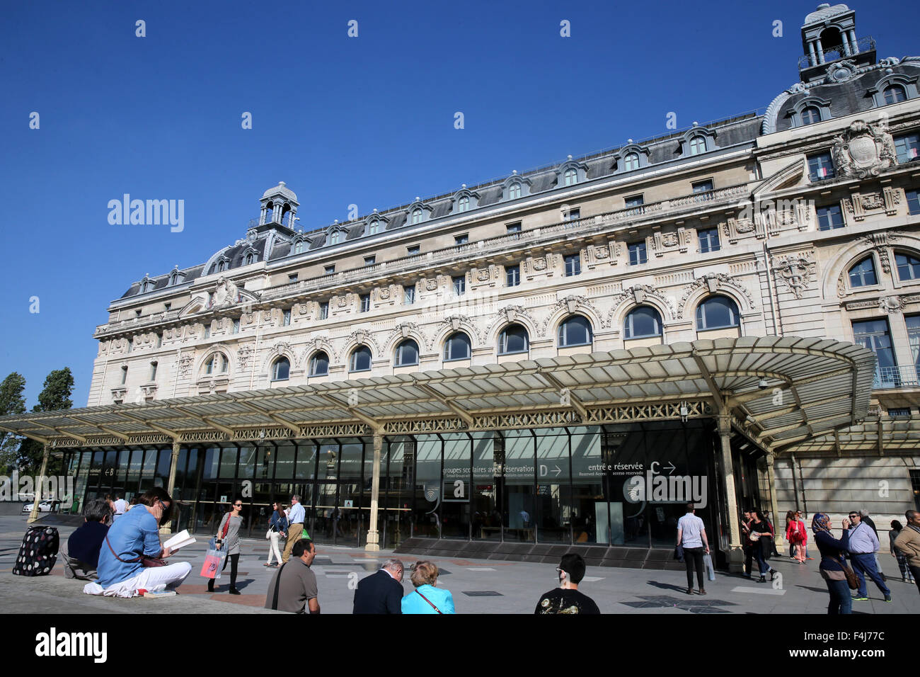 Musee d'Orsay, Paris, France, Europe - Stock Image