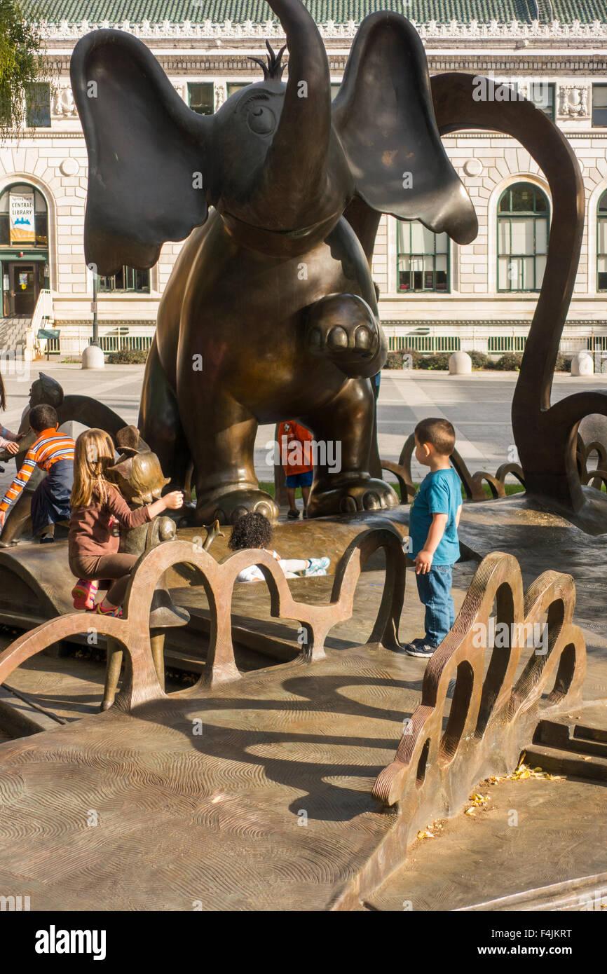 Dr Seuss National Memorial Sculpture Garden Stock Photos & Dr Seuss ...