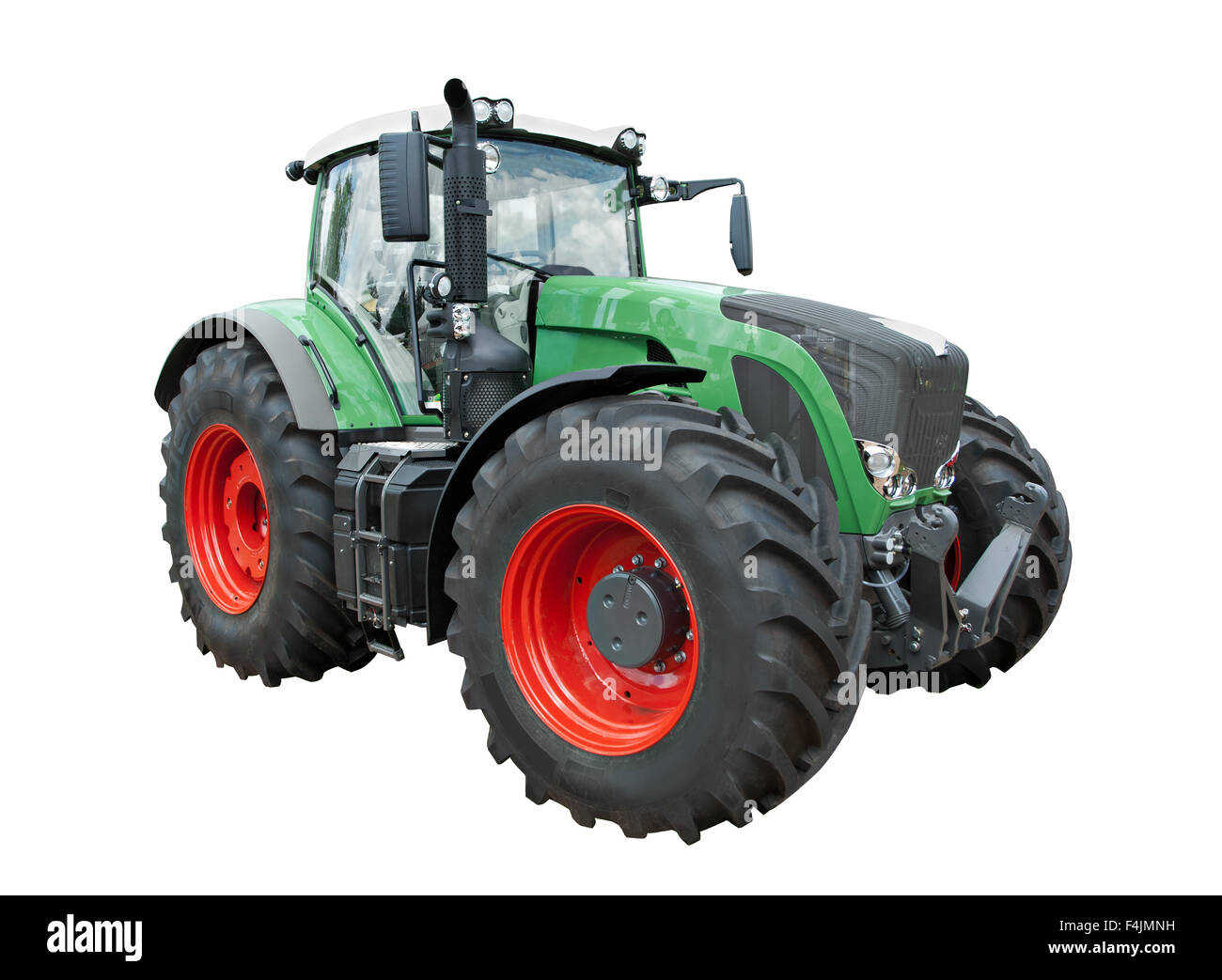 Modern tractor - Stock Image