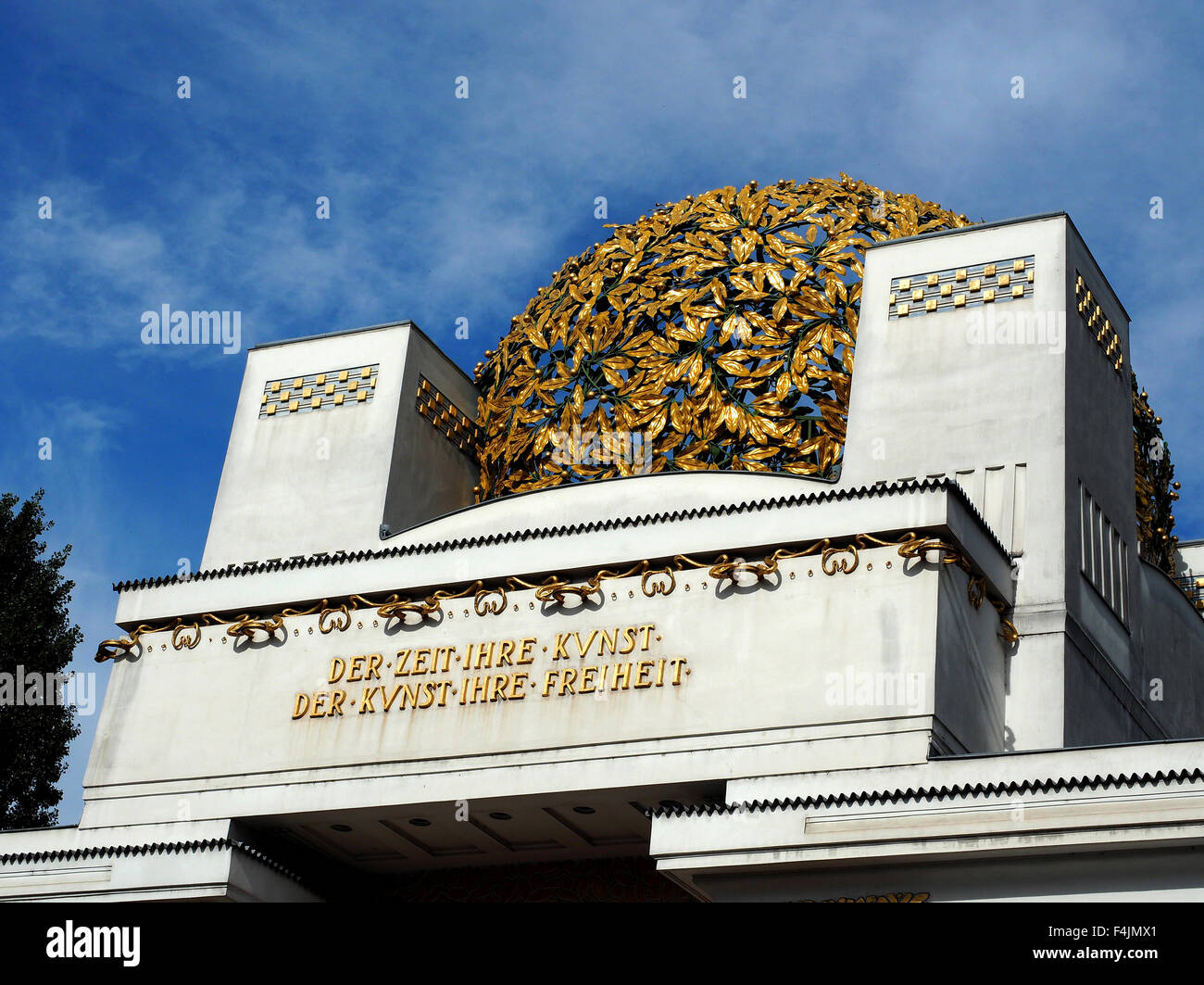 The Secession Building, Vienna, Austria - Stock Image
