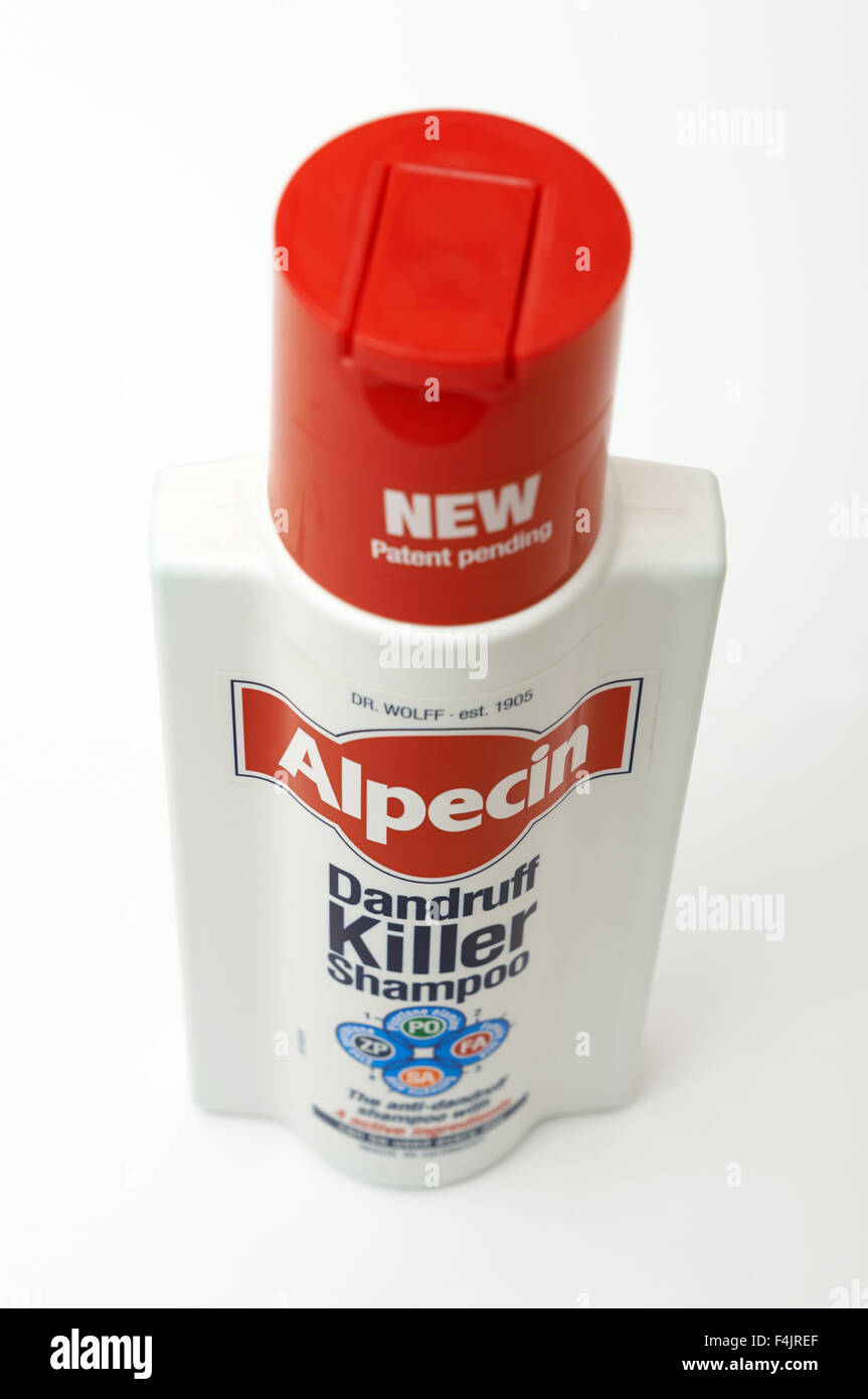 Alpecin Dandruff Killer Shampoo Stock Photo
