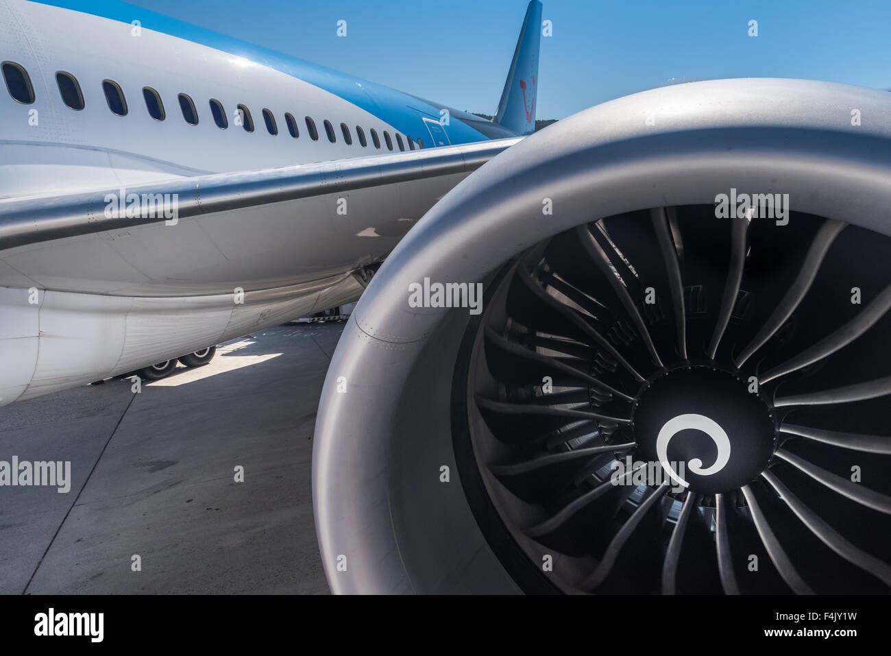 Boeing 787 Dreamliner - Stock Image