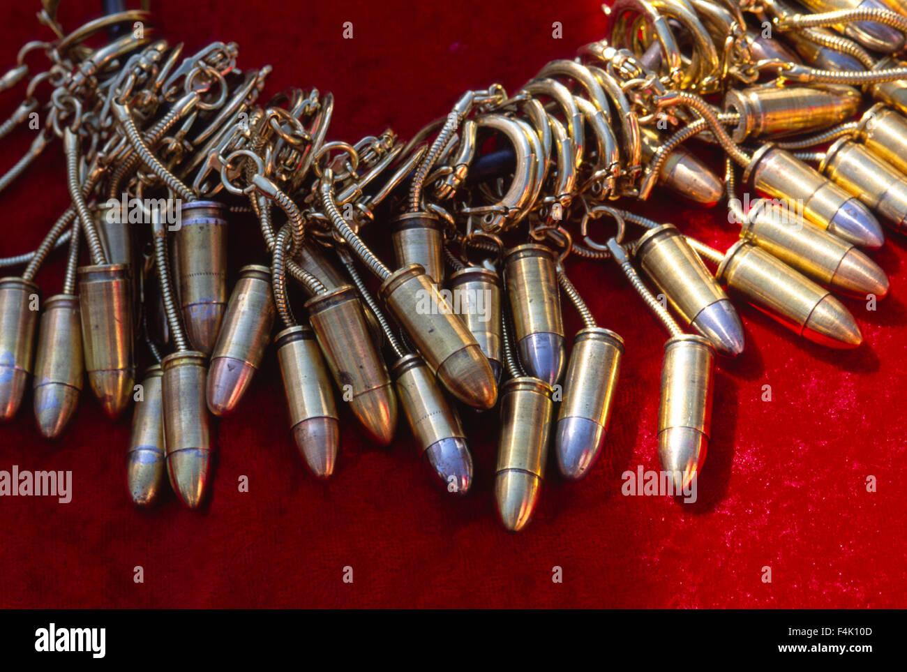 Bullets Souvenirs - Stock Image