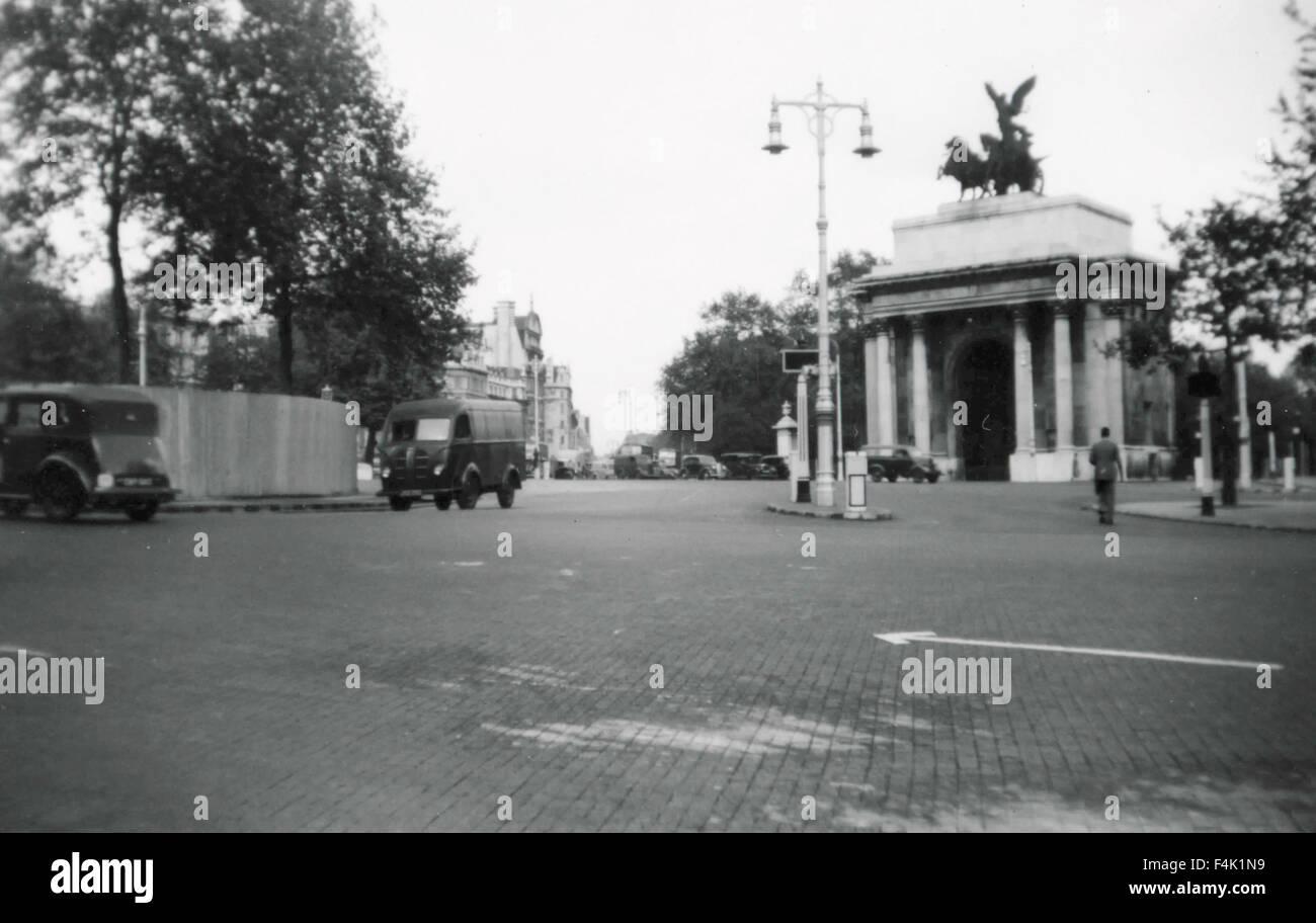 Hyde Park Corner, London, UK - Stock Image