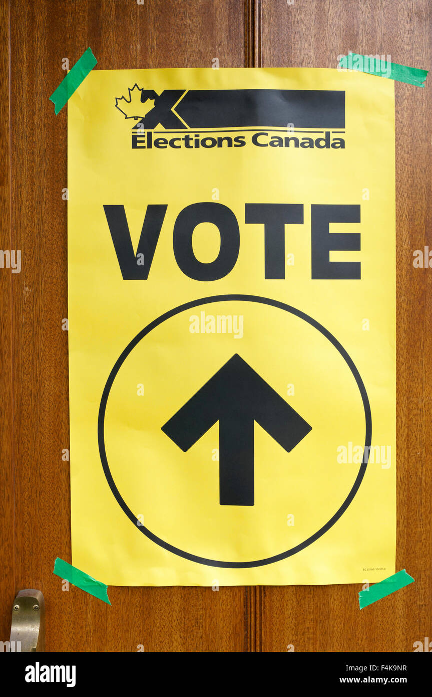 Elections Canada Stock Photos Elections Canada Stock Images Alamy