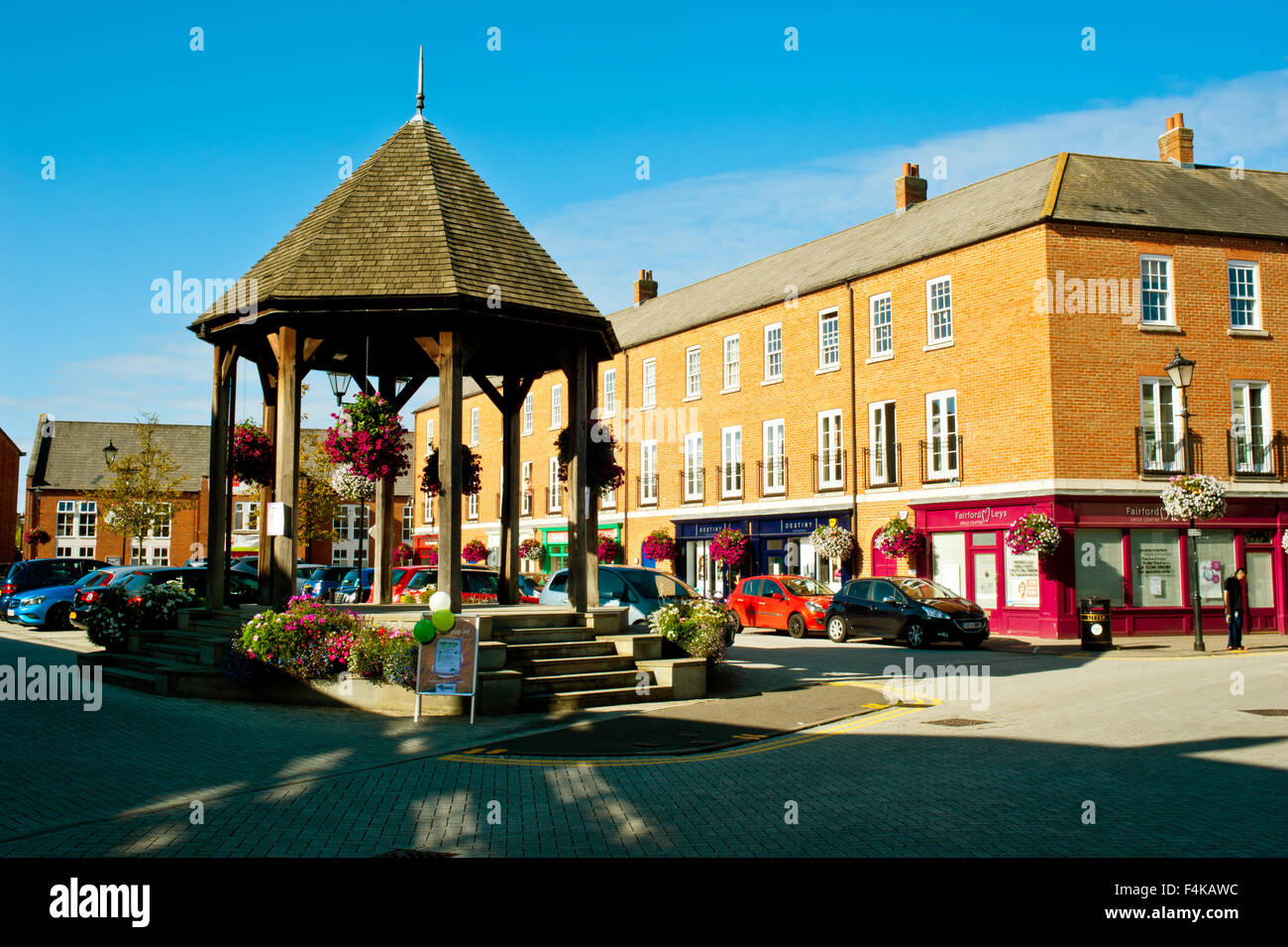Fairford Leys, Aylesbury, Buckinghamshire - Stock Image