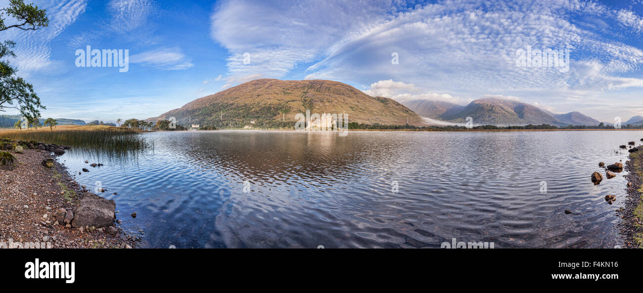 Kilchurn Castle, Loch Awe, Argyll and Bute, Scotland, UK. Stock Photo