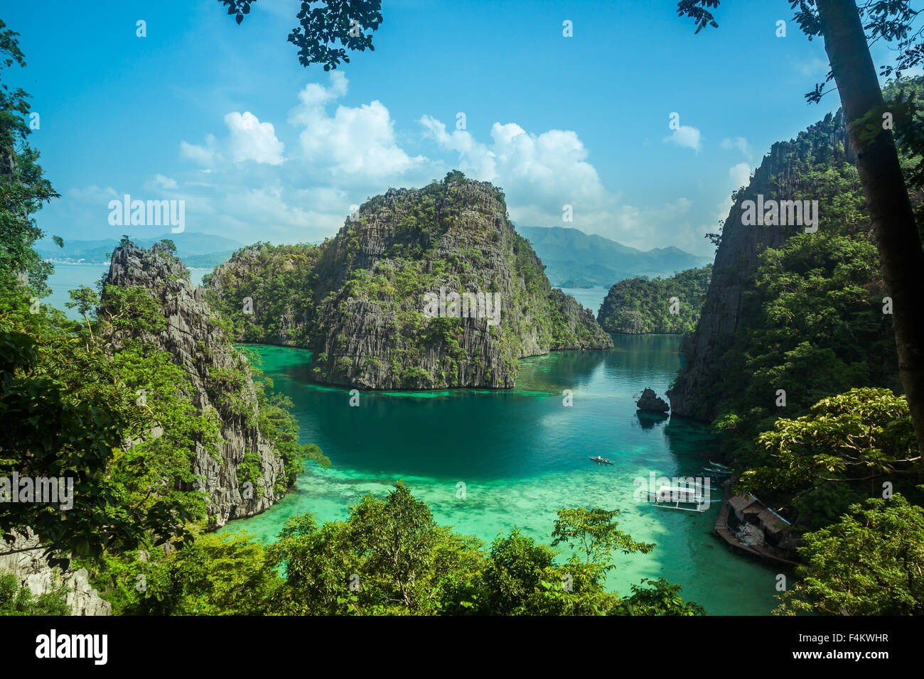 Beautiful Scenery Of Coron Palawan Philippines