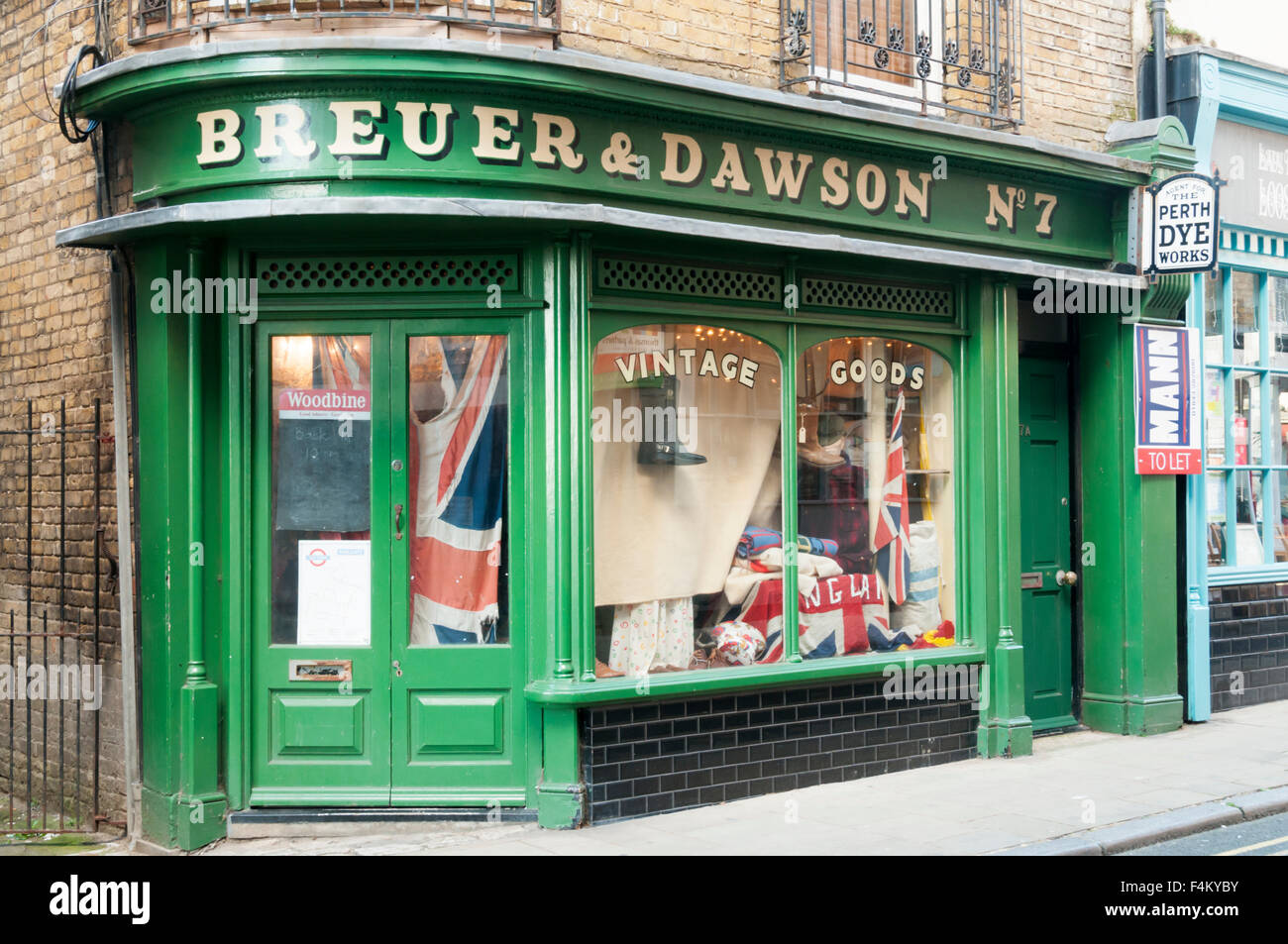 Breuer & Dawson in Margate Old Town. - Stock Image