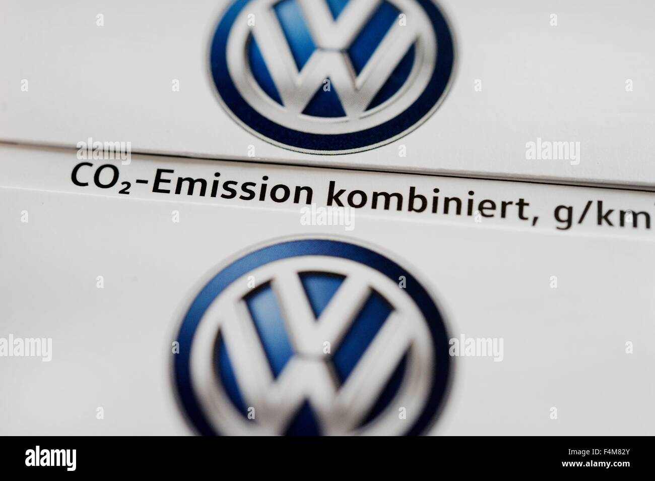 Vw logos germany city of osterode 20 october 2015 photo frank may