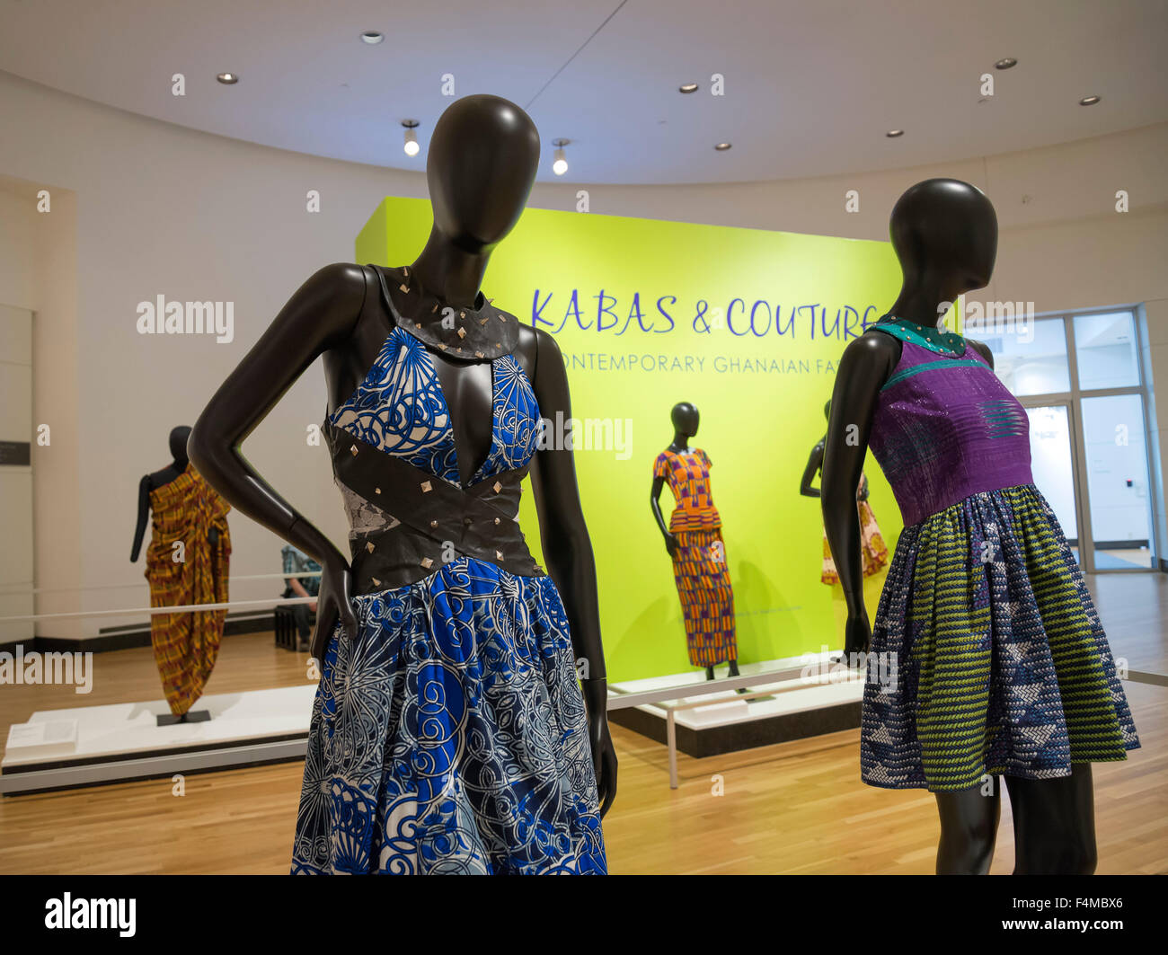Kabas & Couture, Contemporary Ghanaian Fashion - Stock Image