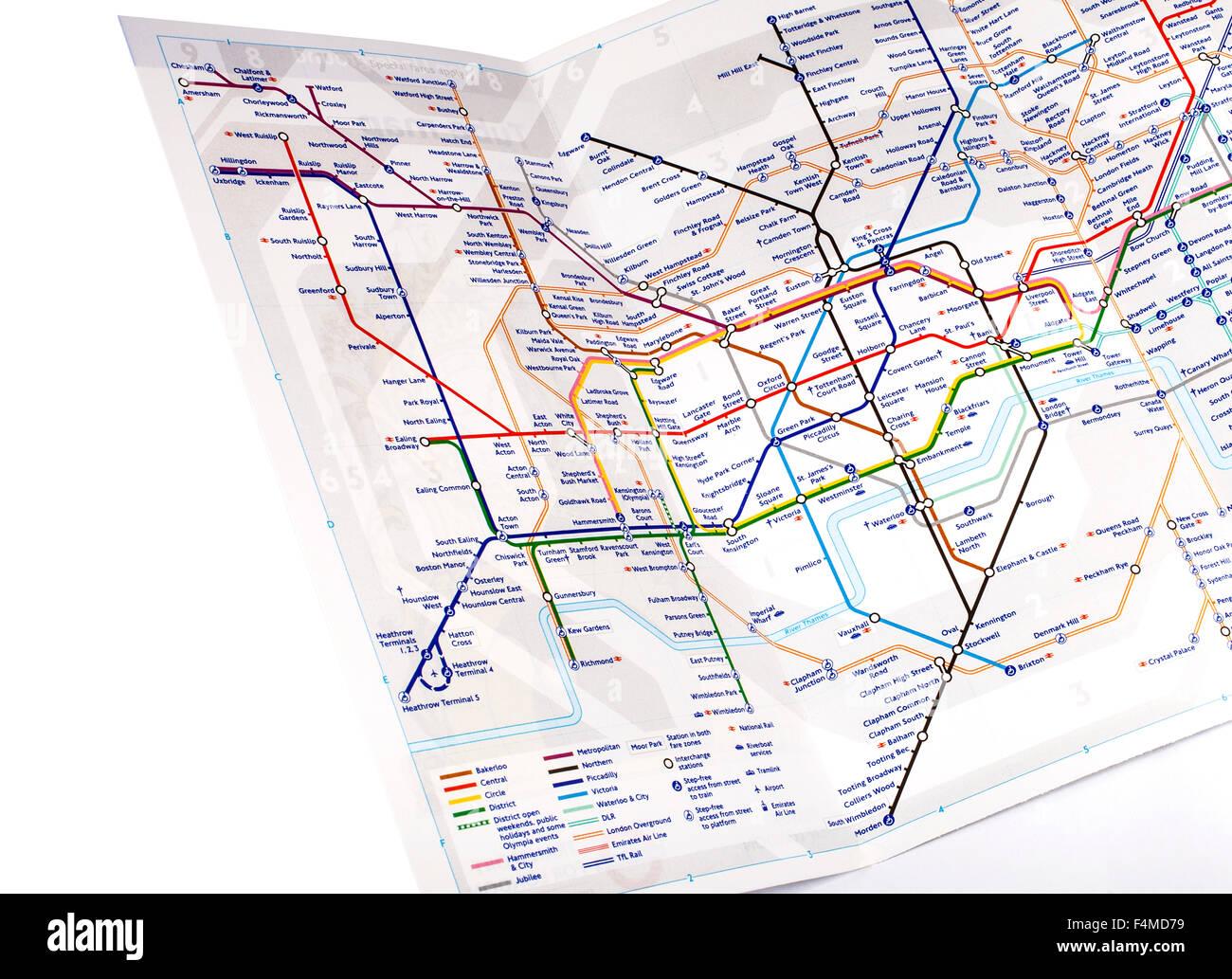Map Subway London.London Subway Map Stock Photos London Subway Map Stock Images Alamy
