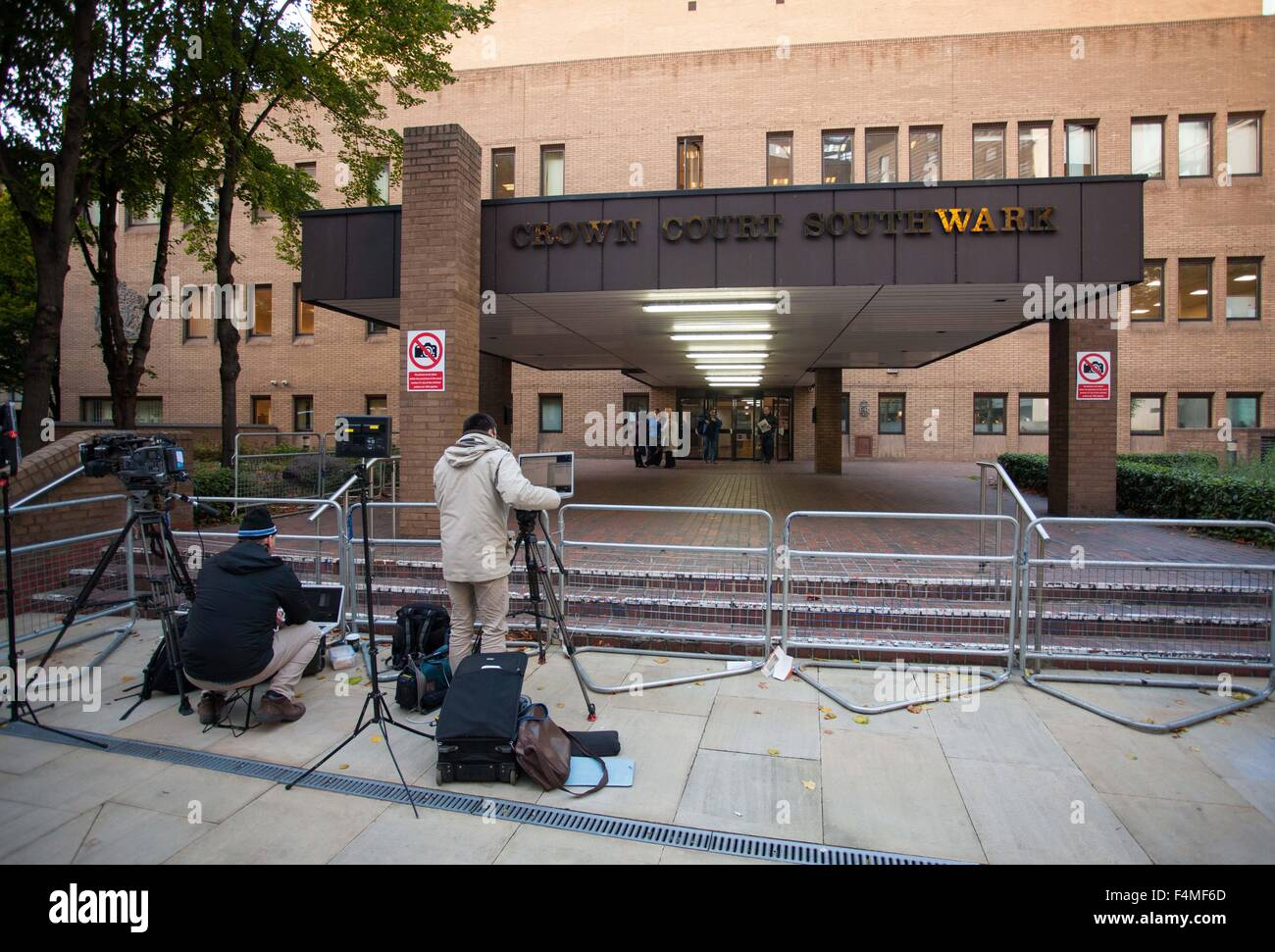 General View GV of Southwark Crown Court - Stock Image