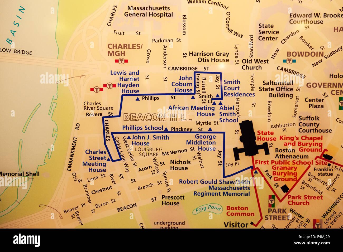 Map Usa Boston Stock Photos & Map Usa Boston Stock Images - Alamy