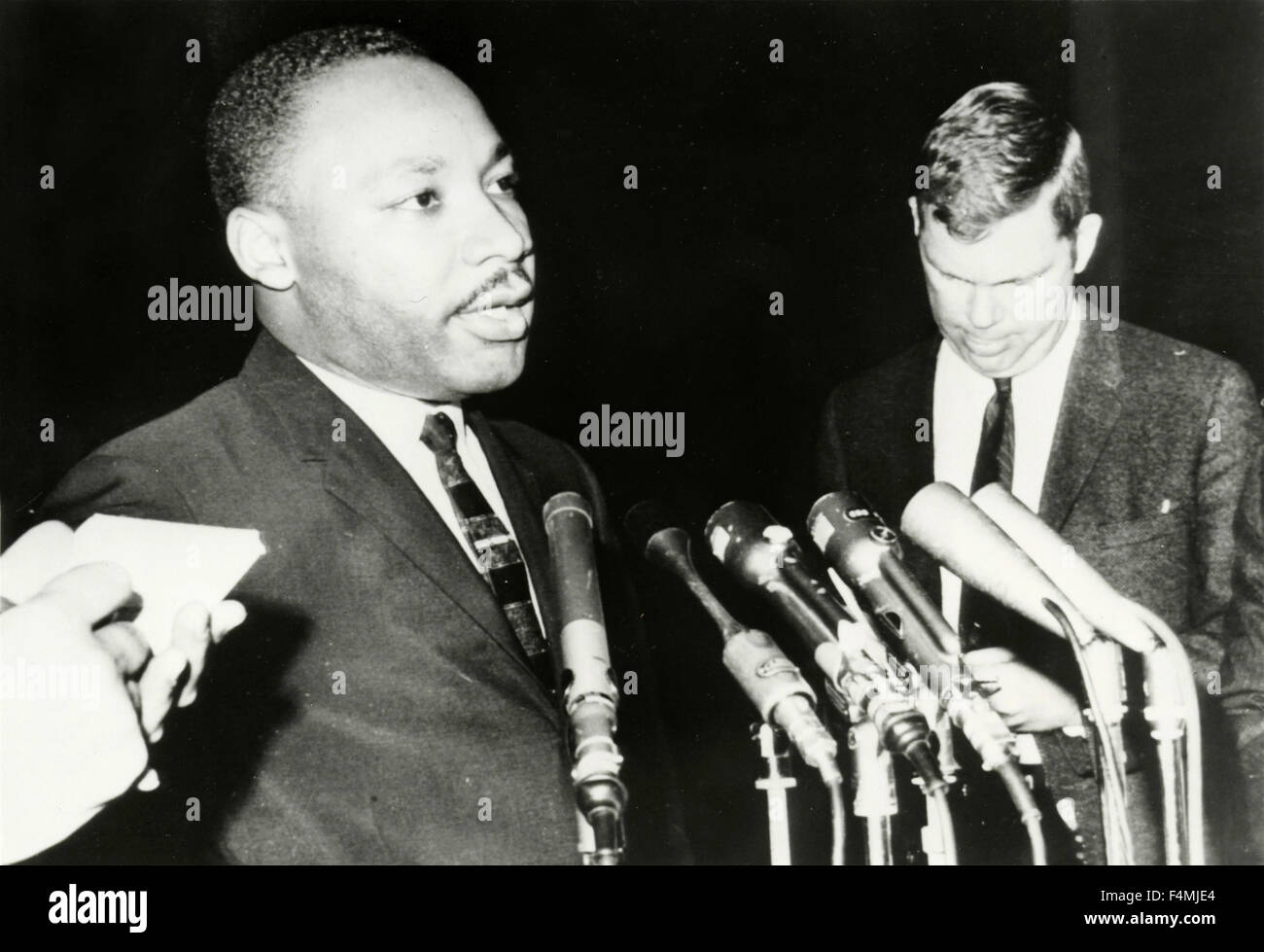 Martin Luther King, Human Rights Activist, USA - Stock Image