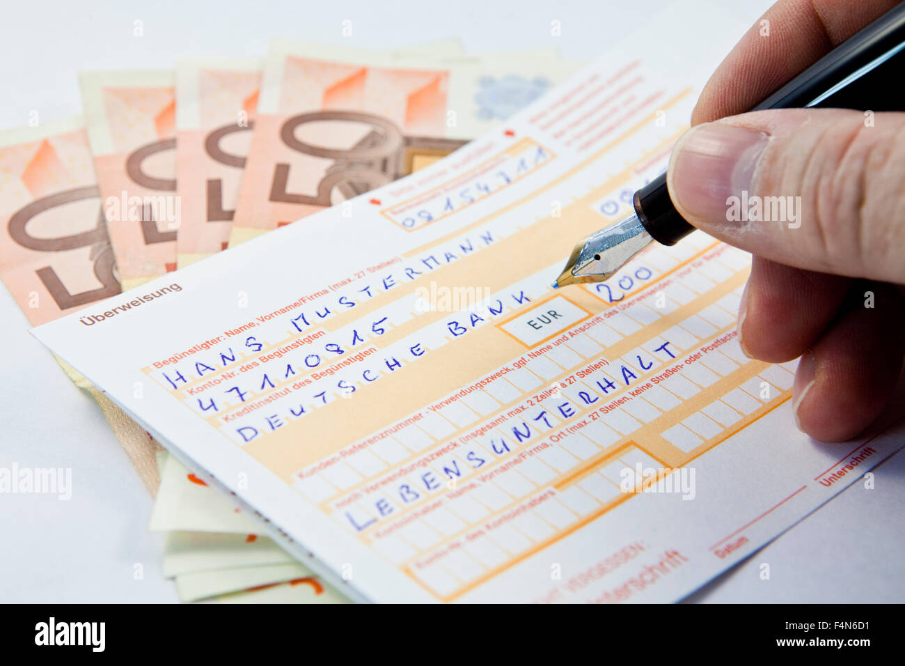 cash slip stock photos cash slip stock images alamy