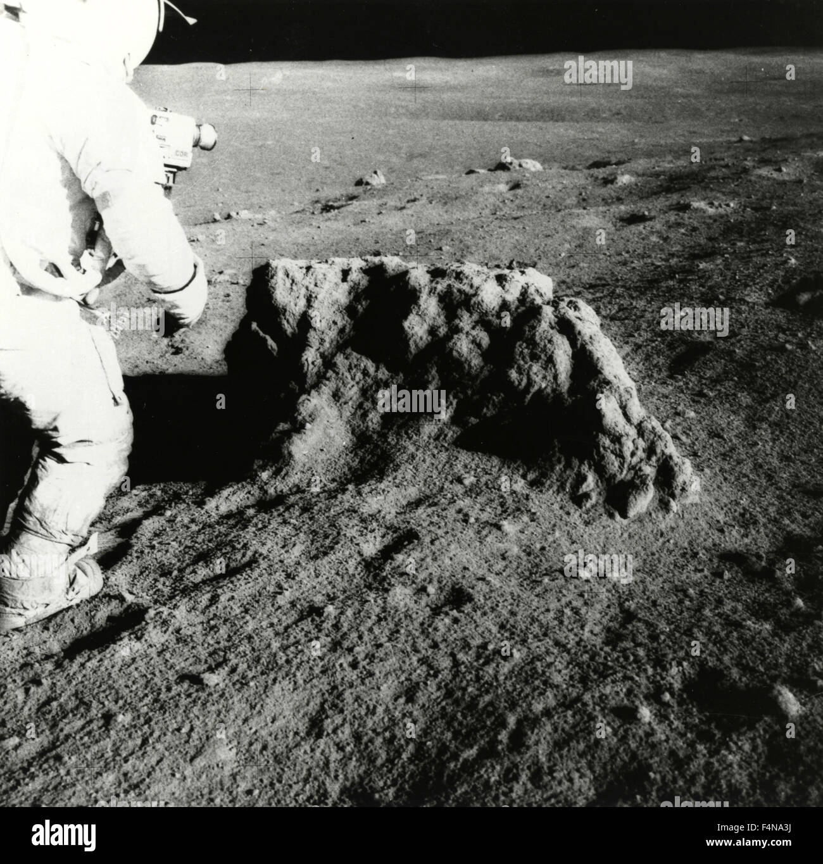 Astronaut Alan Shepard, Apollo 14, USA - Stock Image