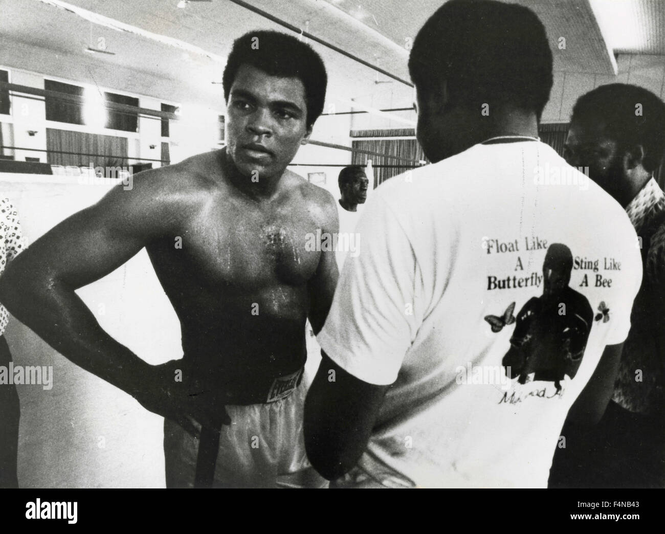 American boxer Muhammad Ali - Cassius Clay - Stock Image