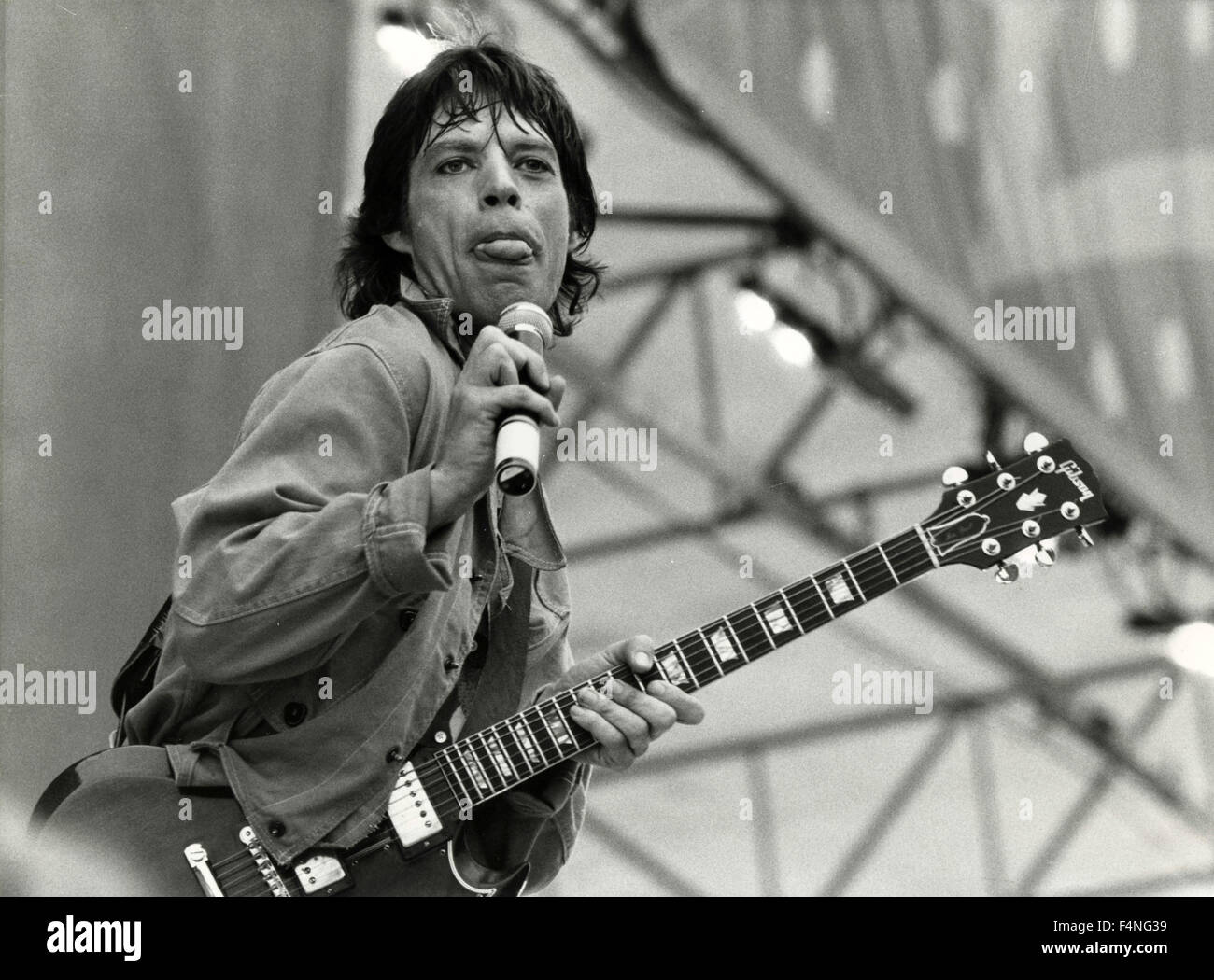 Mick Jagger, musician, UK - Stock Image