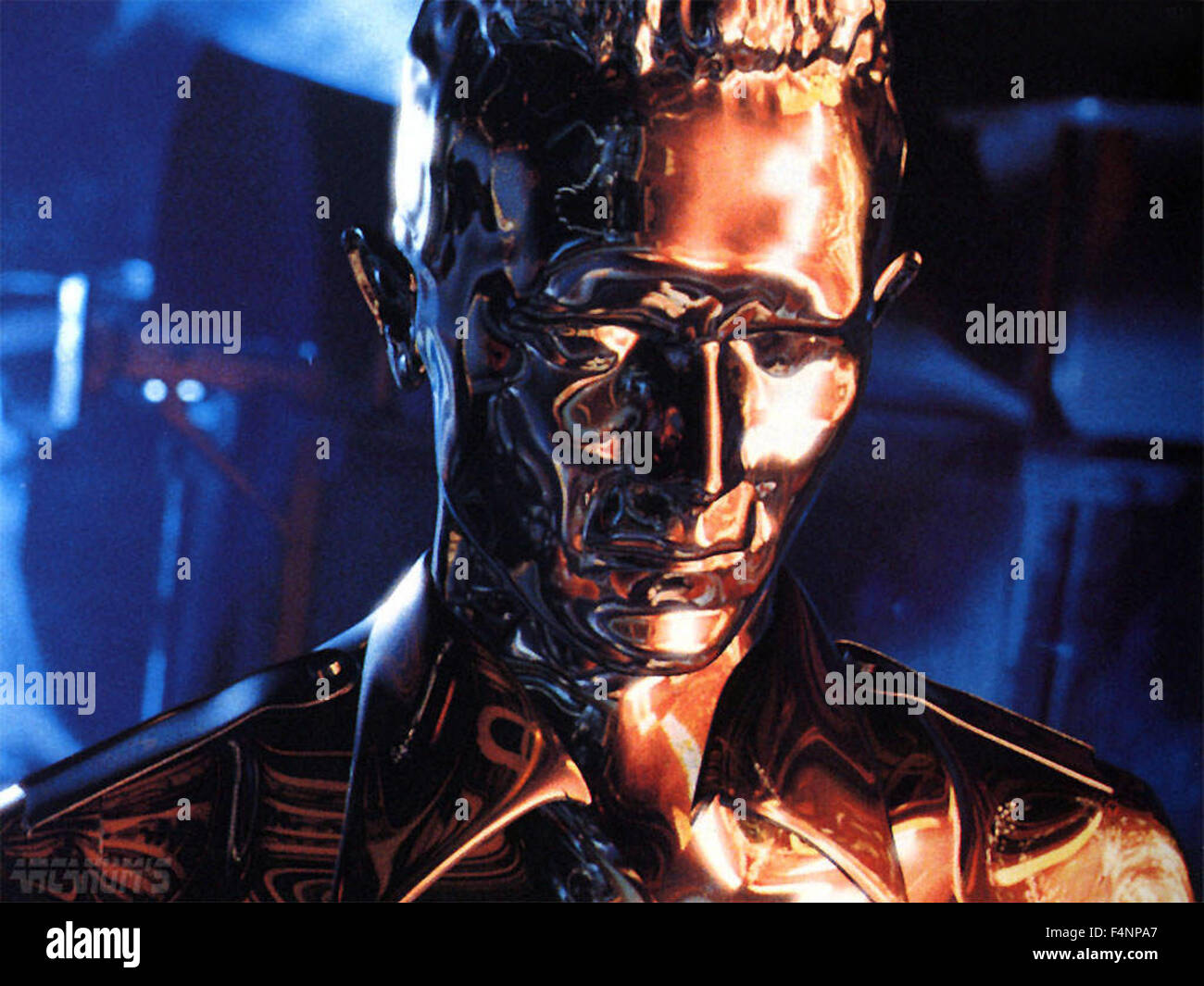 Terminator 2: Judgment Day (also referred to as simply Terminator 2 or T2) is a 1991 American science fiction action - Stock Image