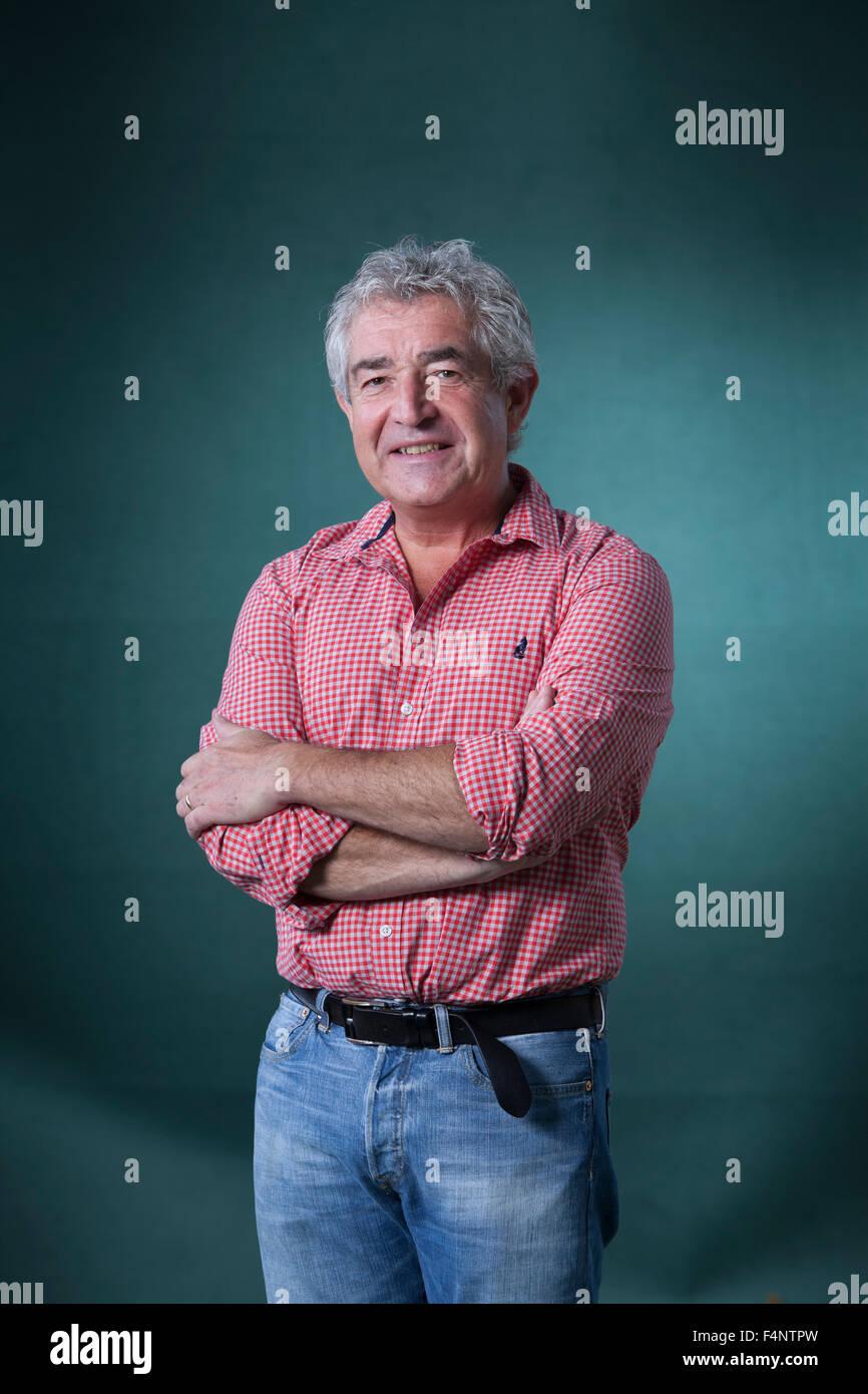 Tony Juniper, the British campaigner, writer, and environmentalist, at the Edinburgh International Book Festival - Stock Image