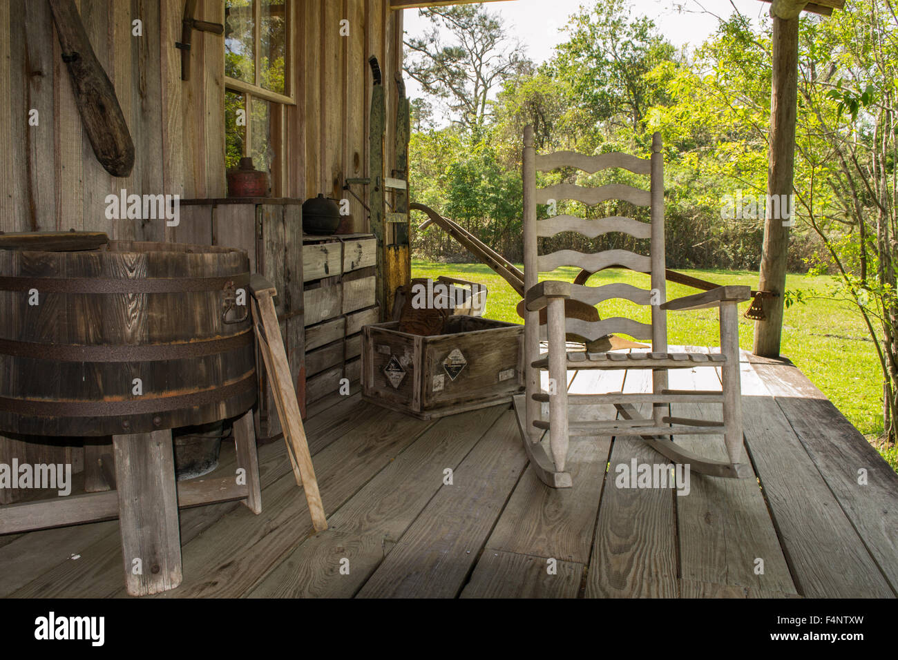Front Porch - Stock Image