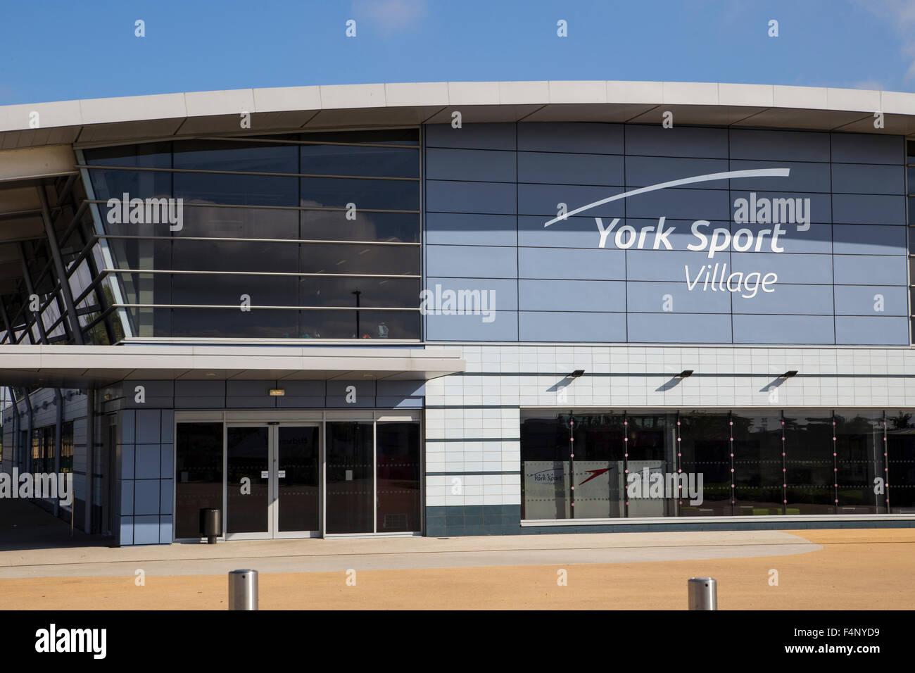 York Sport Village, Heslington, York. - Stock Image