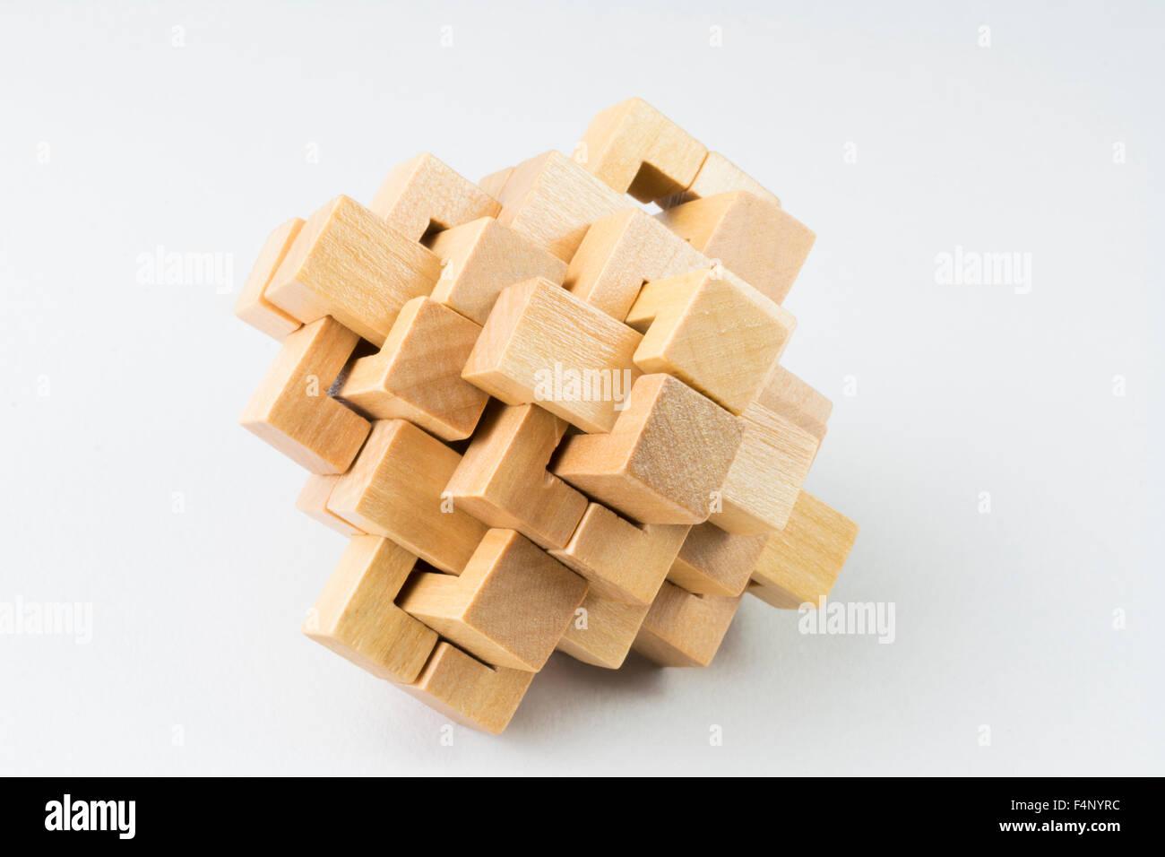 Burr Puzzle Stock Photos & Burr Puzzle Stock Images - Alamy