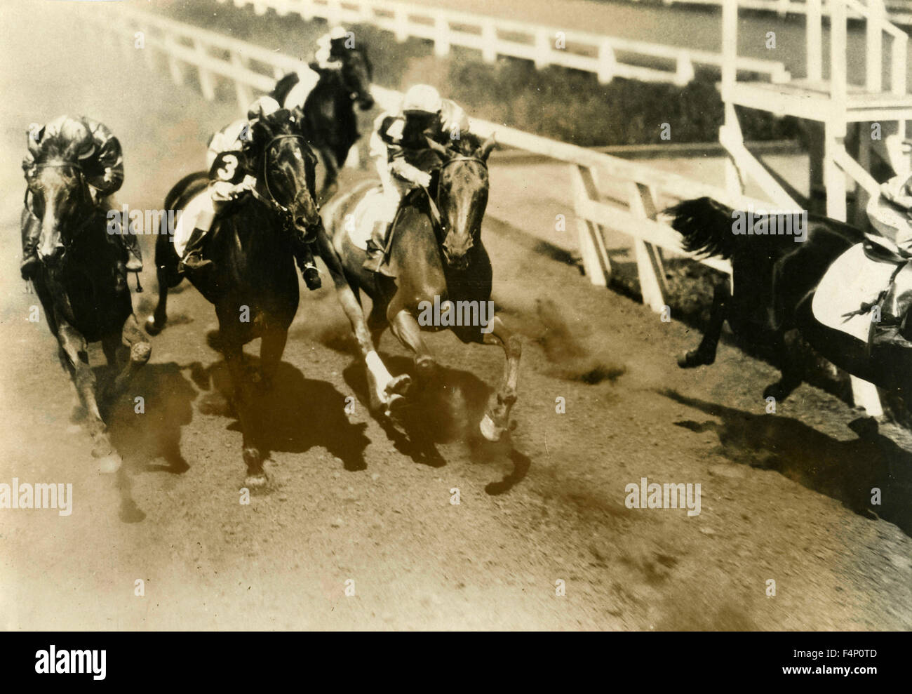 Horse Racing 1930 Stock Photos Amp Horse Racing 1930 Stock