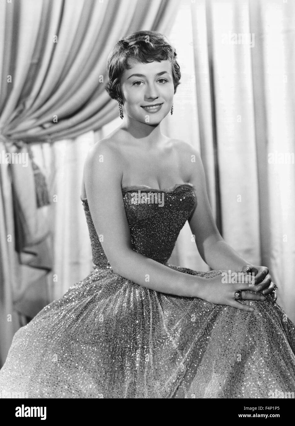 Annie Girardot / L'homme aux clefs d'or 1956 directed by Leo Joannon - Stock Image