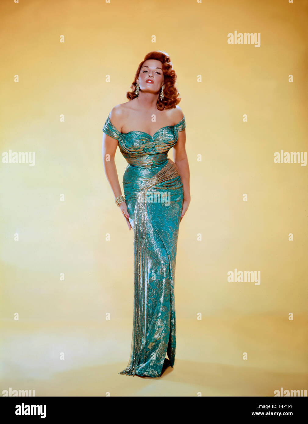 JANE RUSSELL 1956 - Stock Image