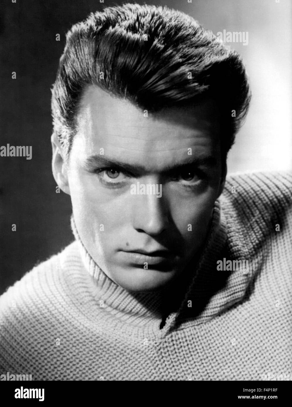 Clint Eastwood in the 50's - Stock Image