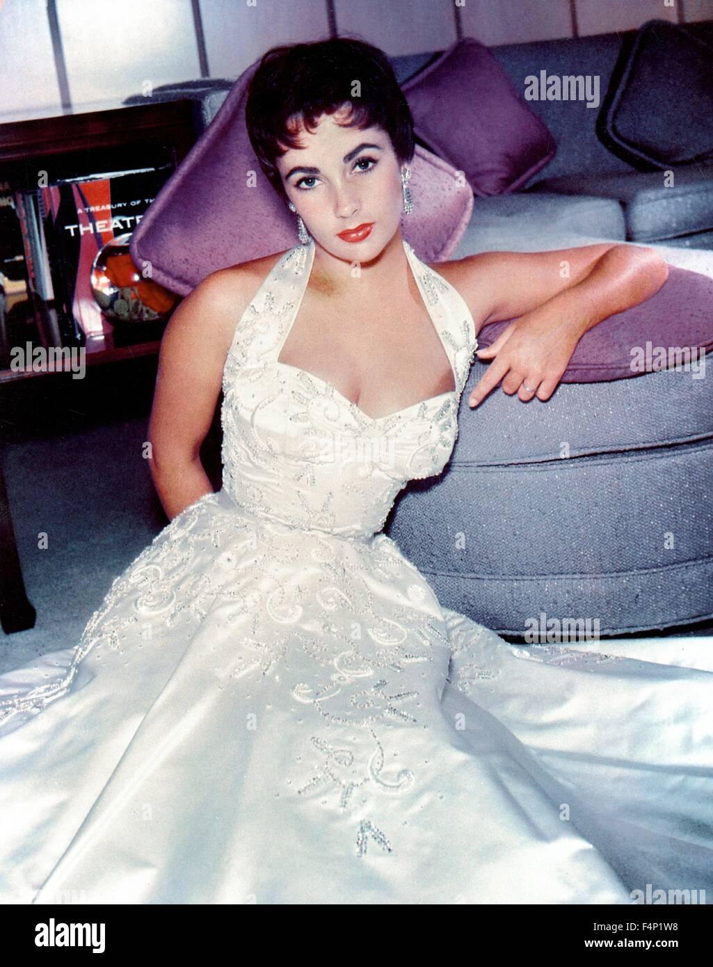 Elizabeth Taylor in 1970 - Stock Image