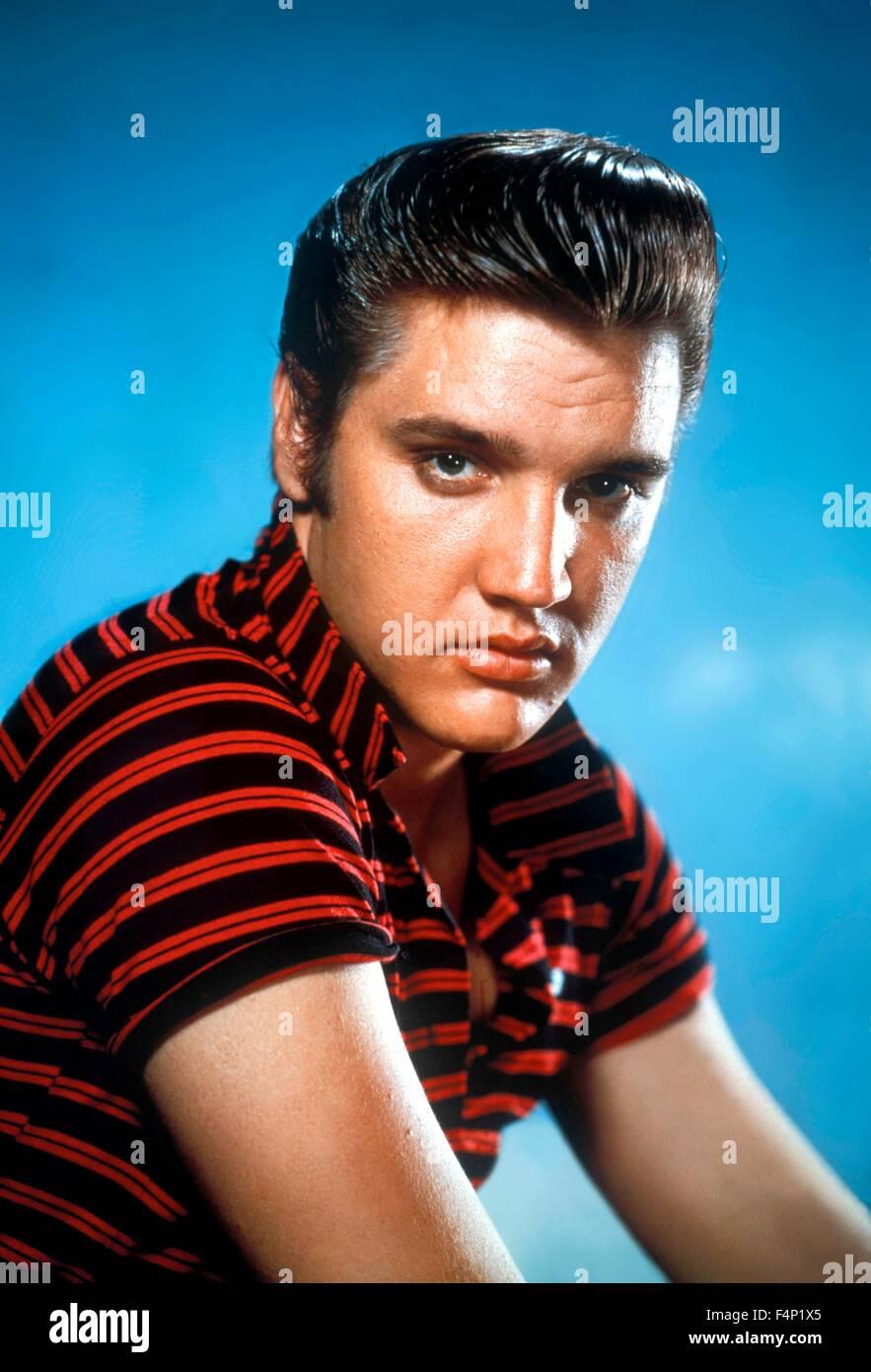 Elvis Presley in 1956 - Stock Image