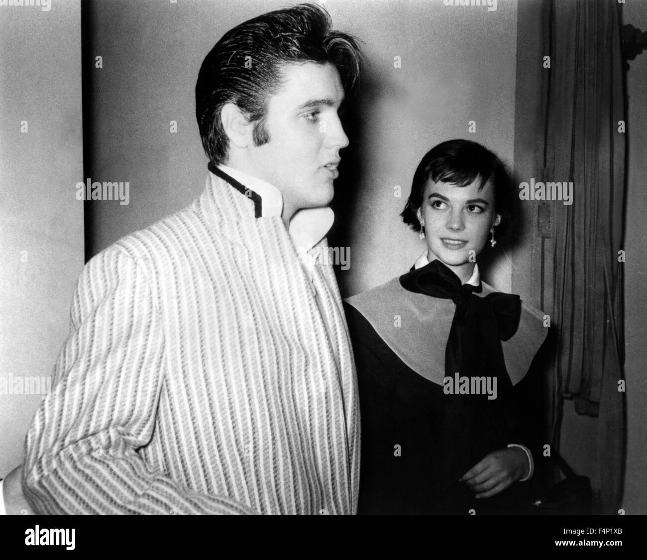 Elvis Presley in 1956 - Stock Image