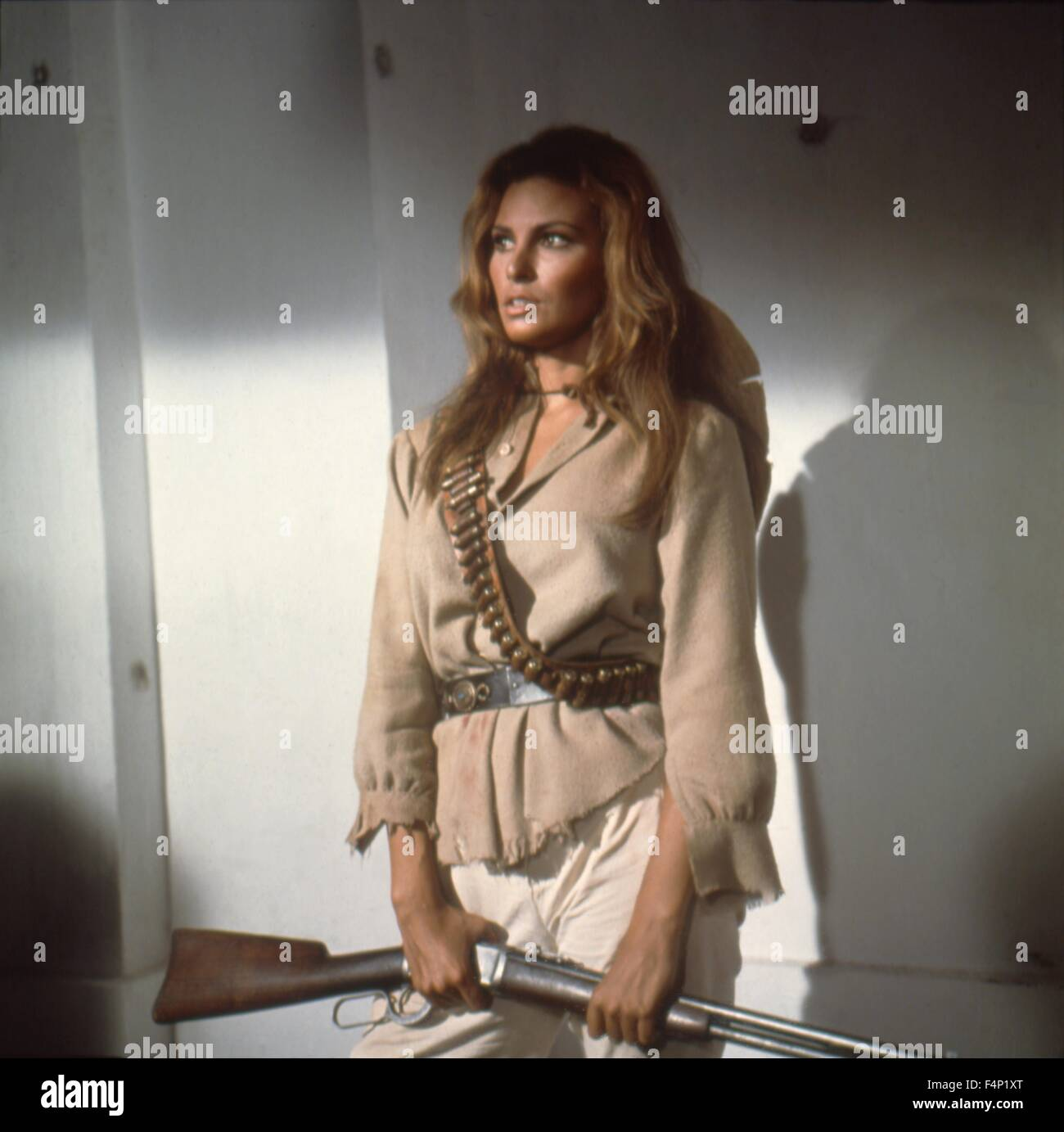 Raquel Welch / 100 Rifles 1969 directed by Tom Gries - Stock Image