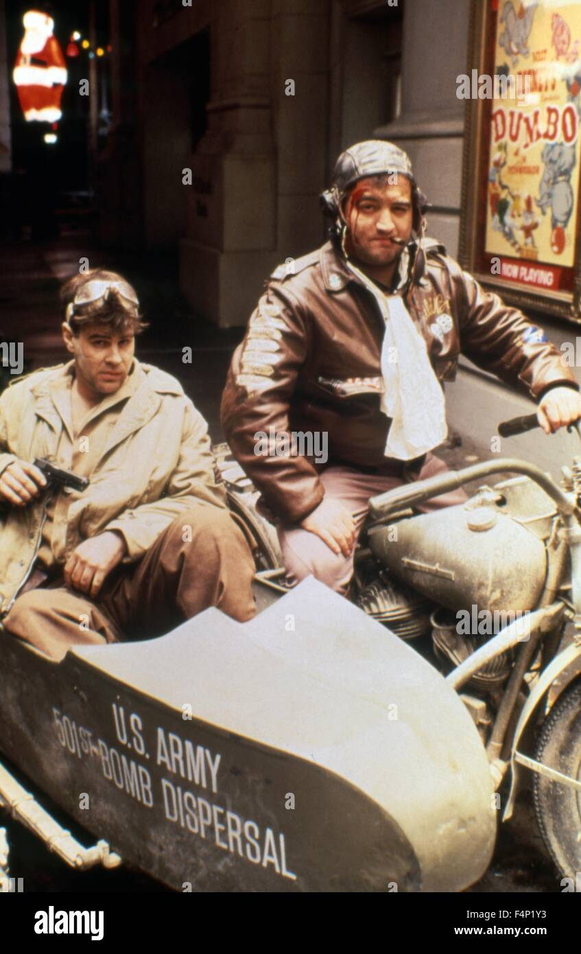 Dan Aykroyd and John Belushi / 1941 1979 directed by Steven Spielberg - Stock Image